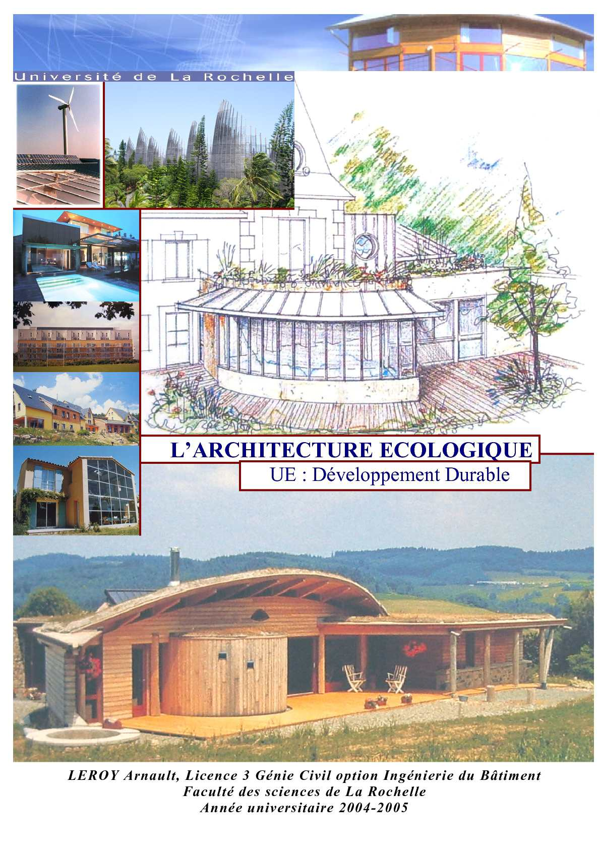 Calam o architecture cologique for Architecture ecologique