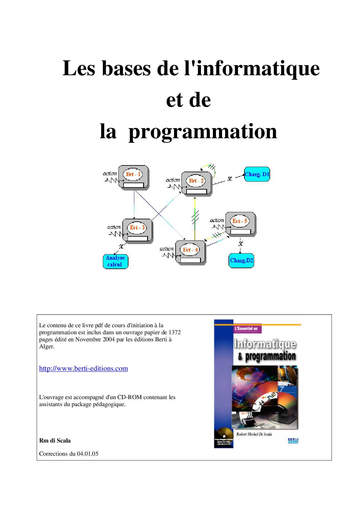 Livre De Programmation Informatique Pdf Free