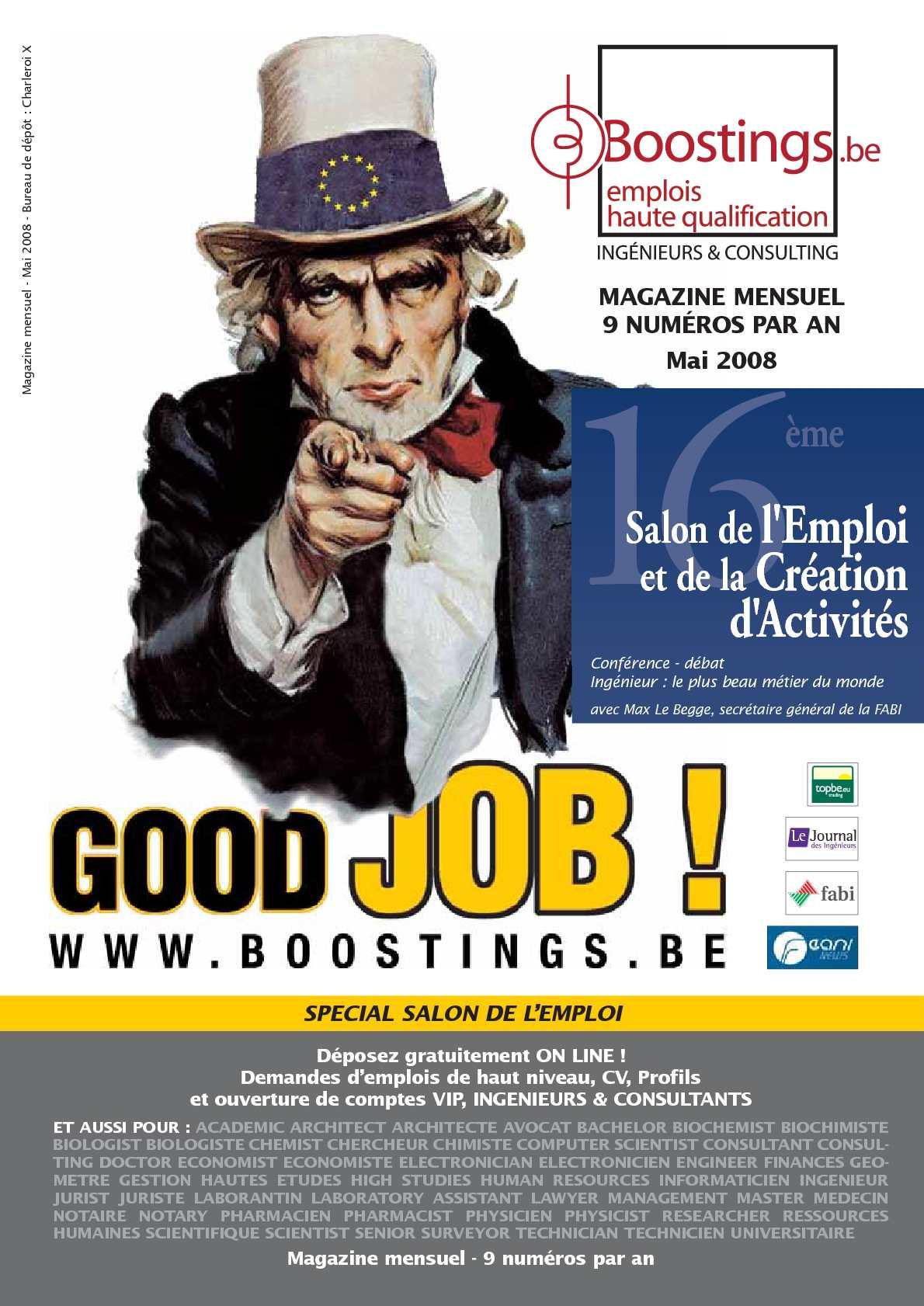 calam u00e9o - boostings mai 2008