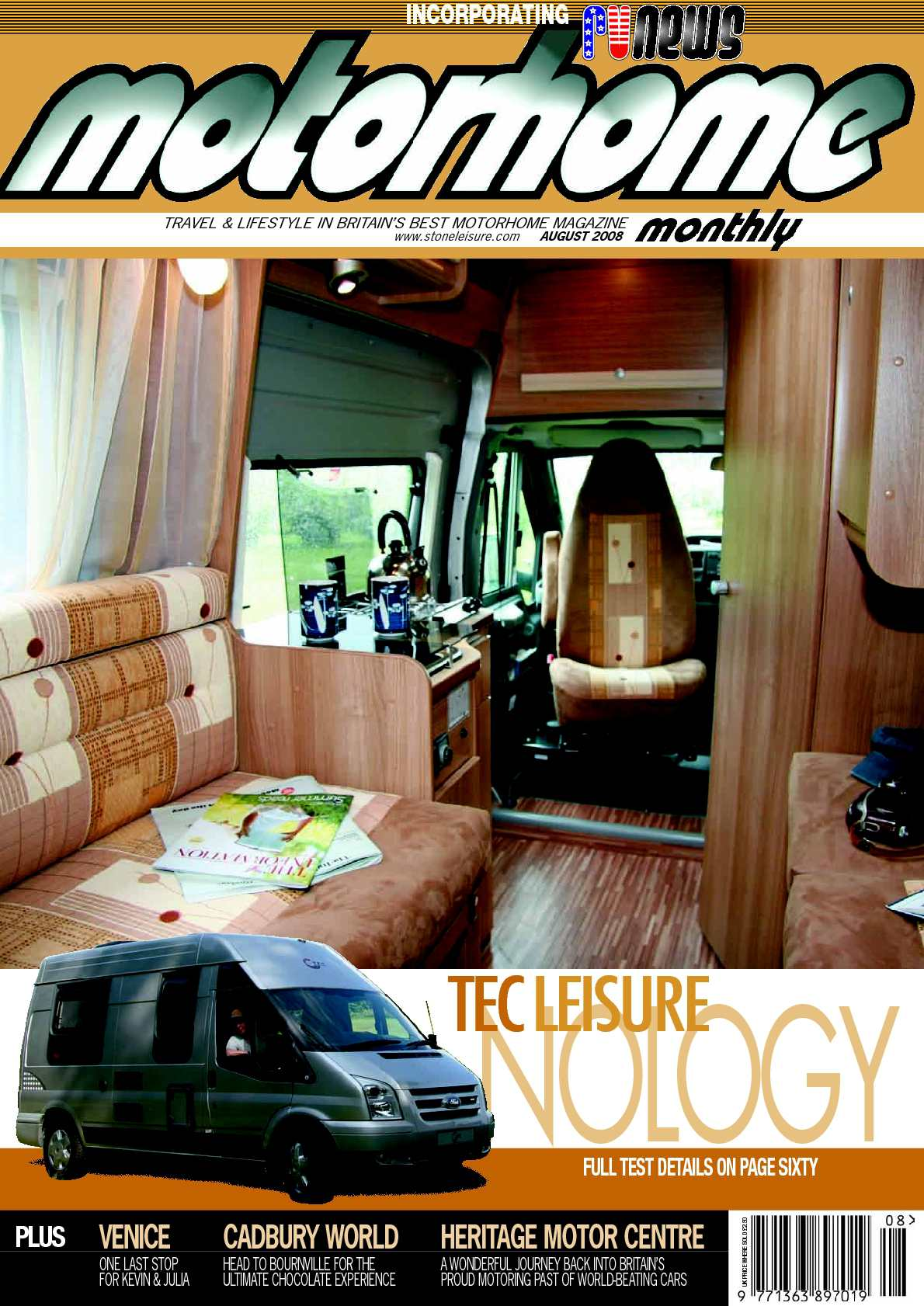 Calaméo August 2008 Motorhome Monthly Magazine