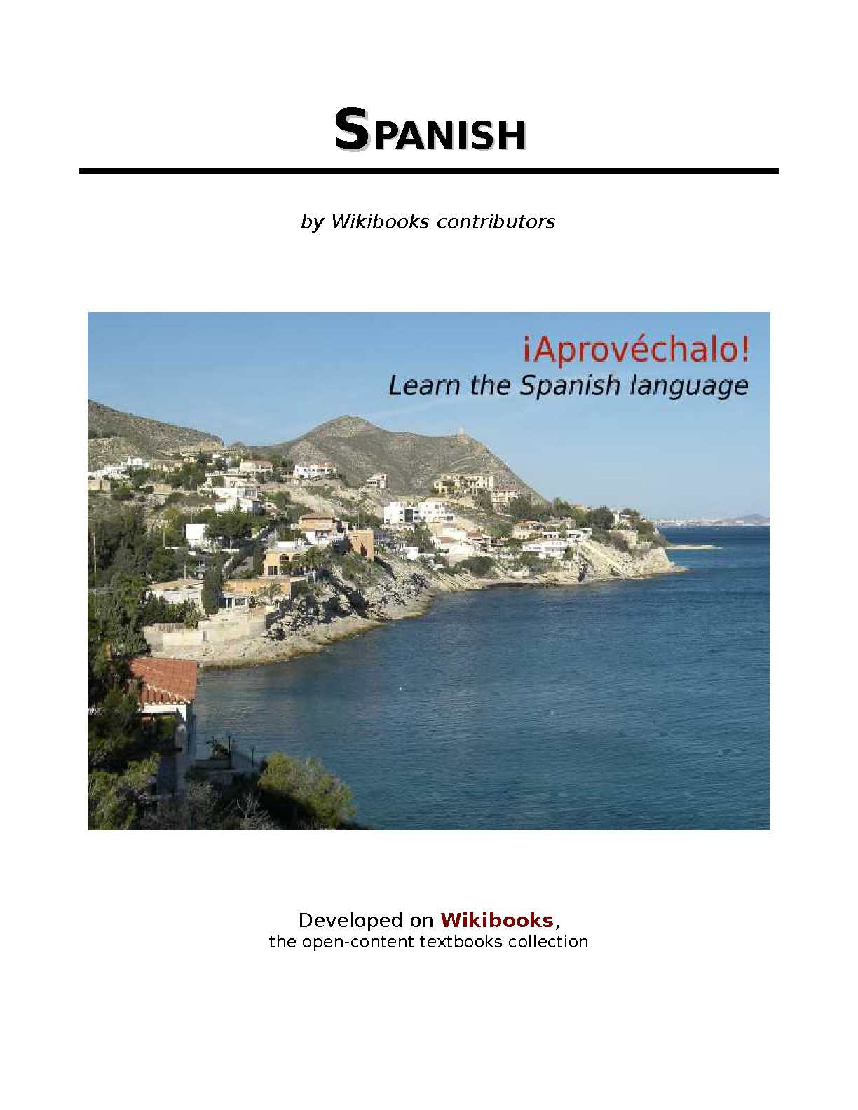 Learning Spanish - WikiBooks