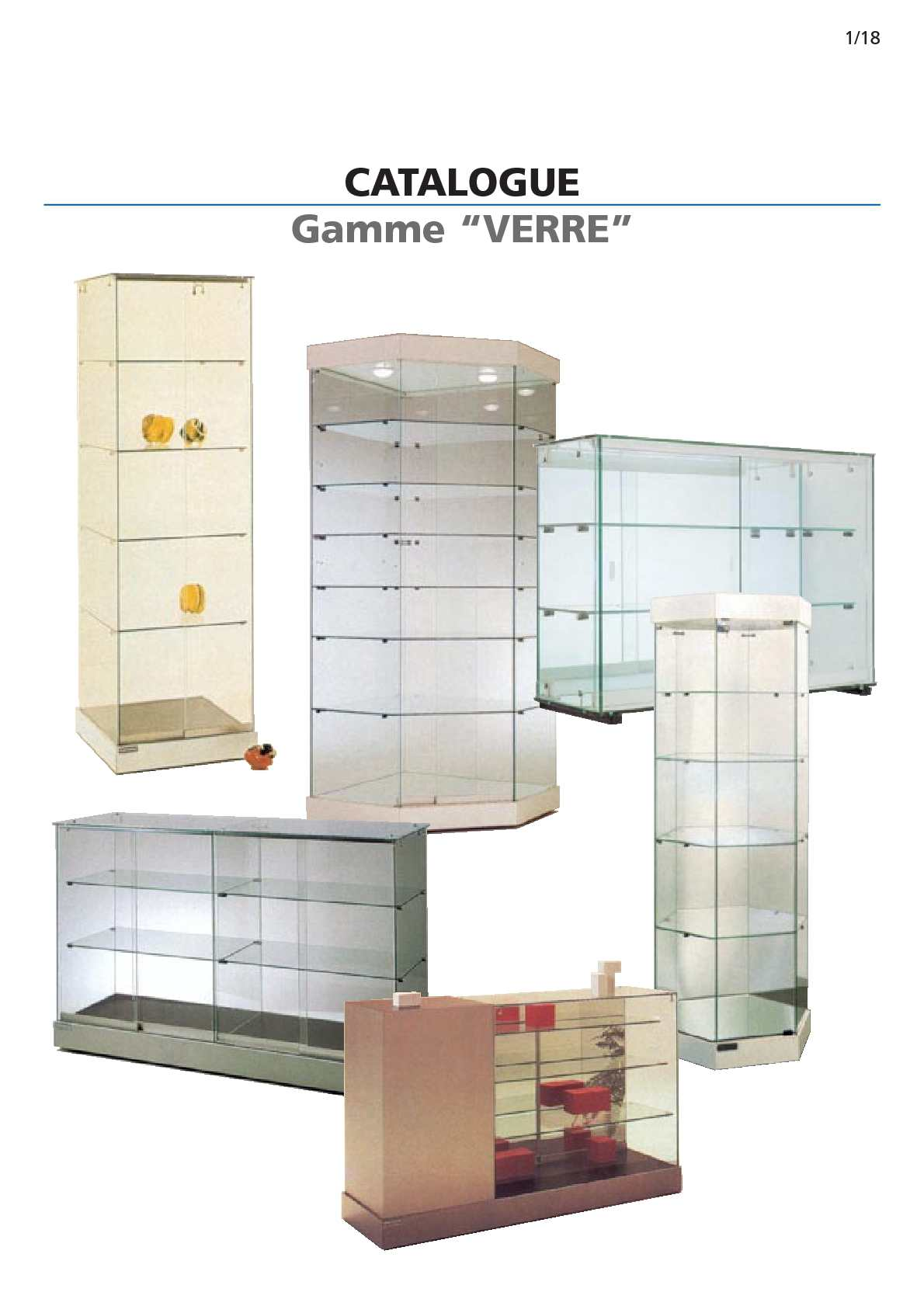 calam o vitrine meuble pour commerces. Black Bedroom Furniture Sets. Home Design Ideas