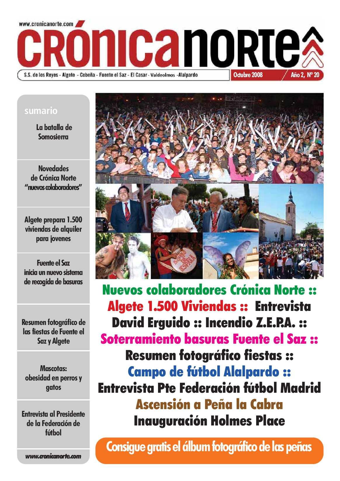 Calaméo - Crónica Norte - Octubre 2008