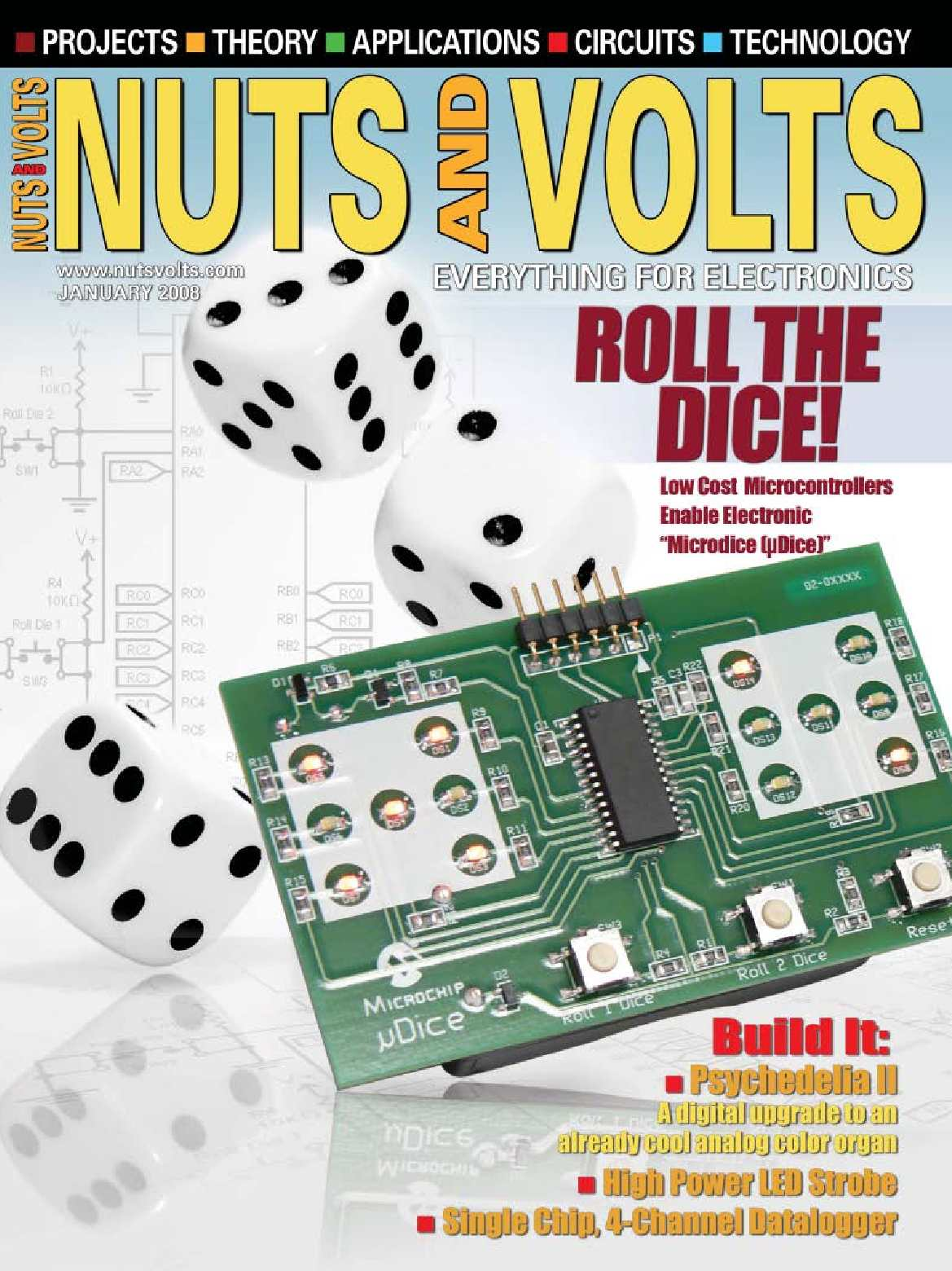 Calamo Nuts And Volts 01 2008 Electronic Hobby Site Contact Debouncing In Circuits