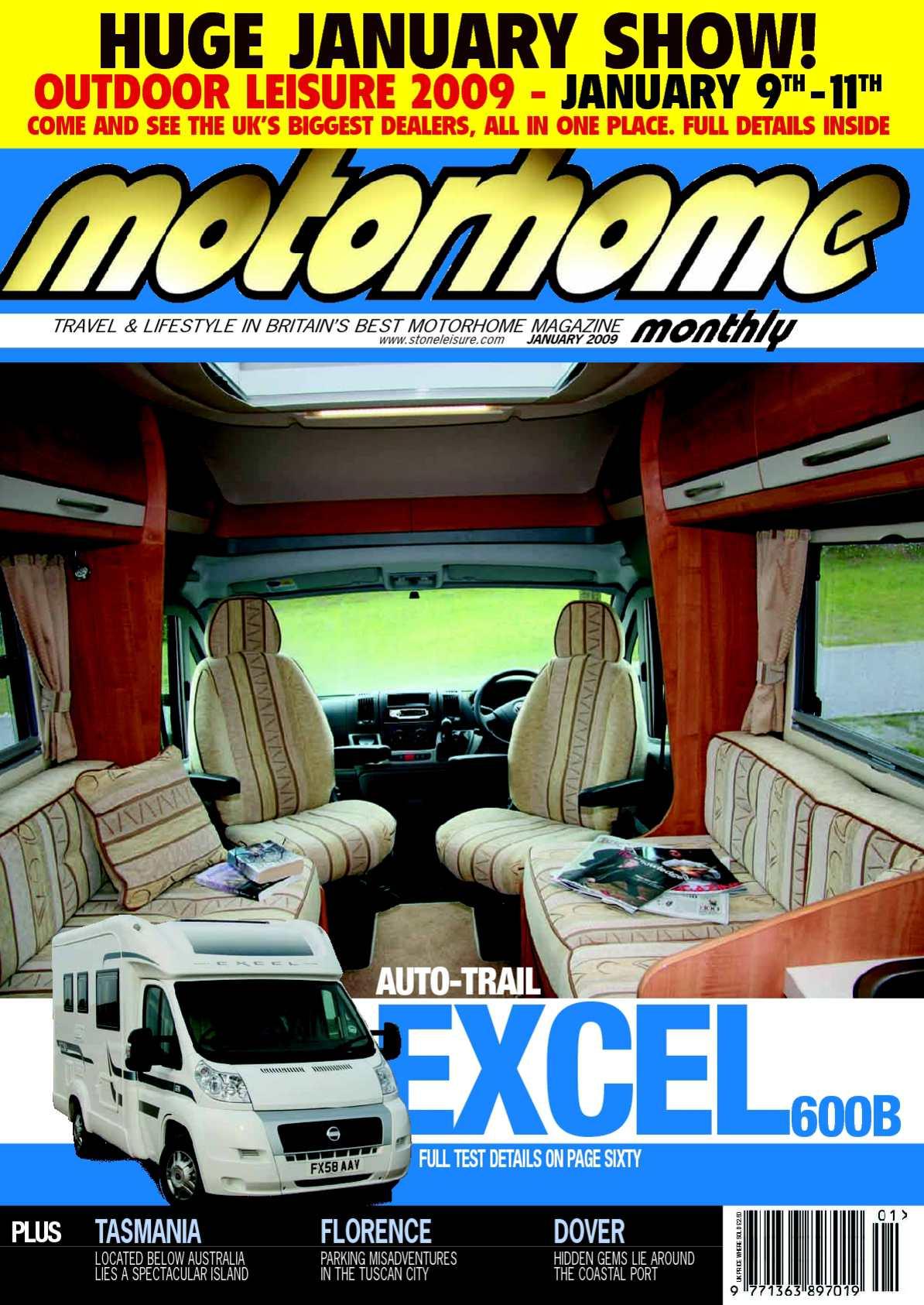 Calaméo January 2009 Motorhome Monthly Magazine