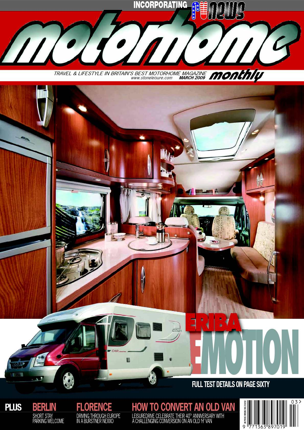 Calaméo March 2009 Motorhome Monthly Magazine