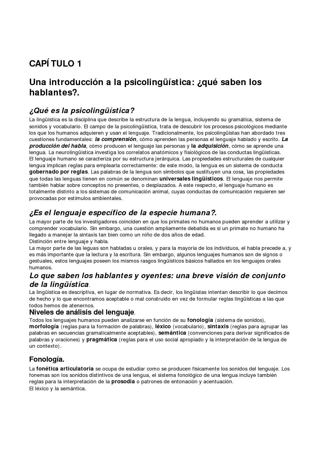Calaméo - Libro sobre Psicolinguistica