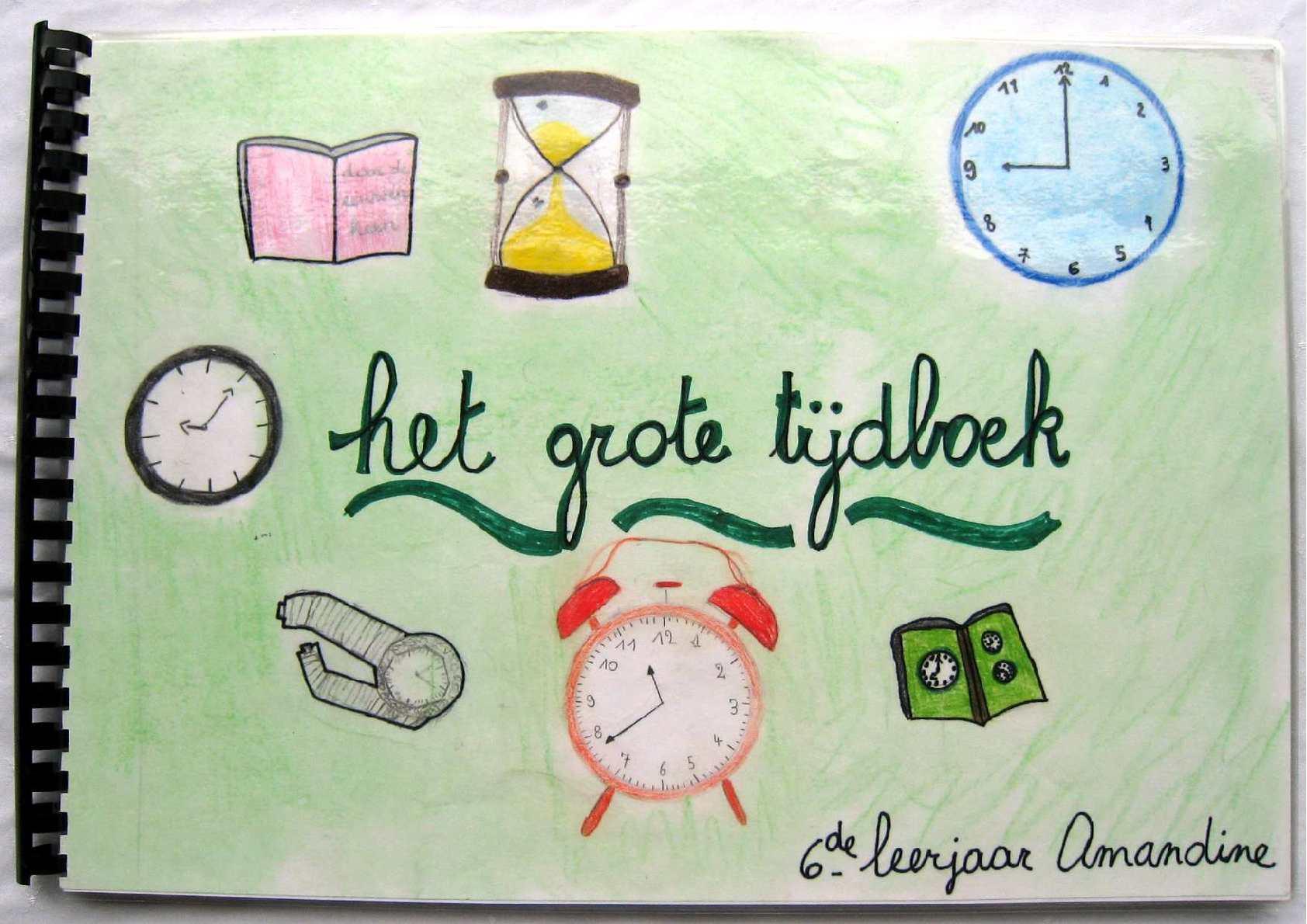 Le temps en néerlandais (6ème A)