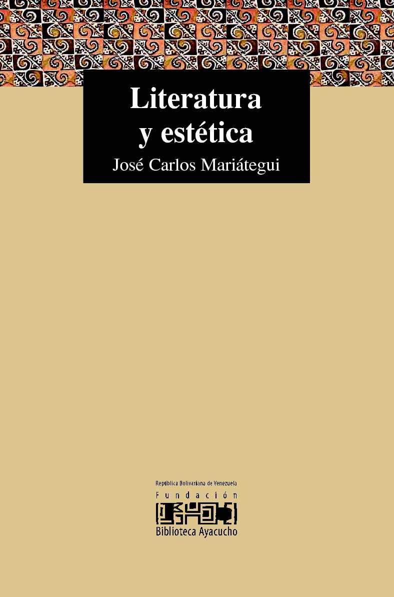 Calaméo - Mariátegui, José Carlos - Literatura y estética