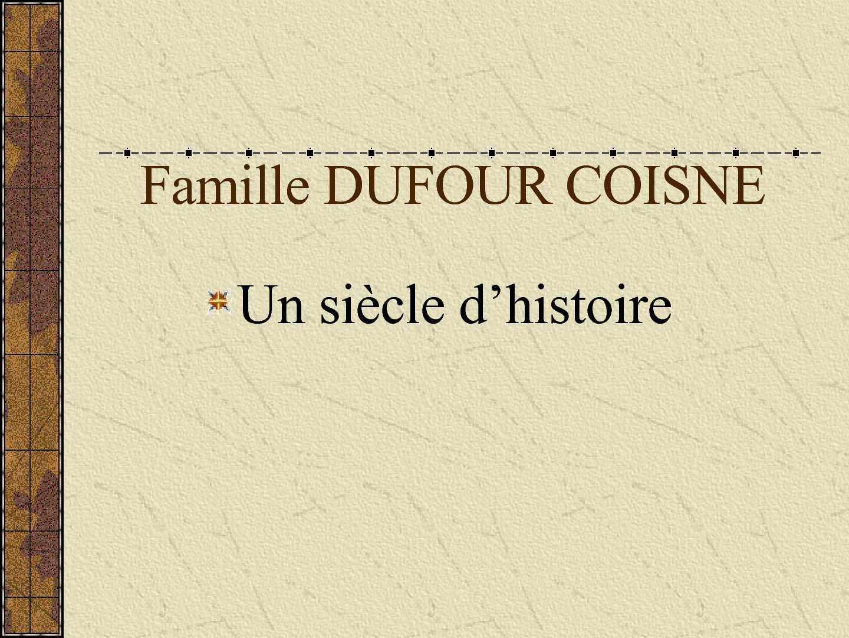 Calam o un si cle histoire famille dufour - La filature hellemmes ...