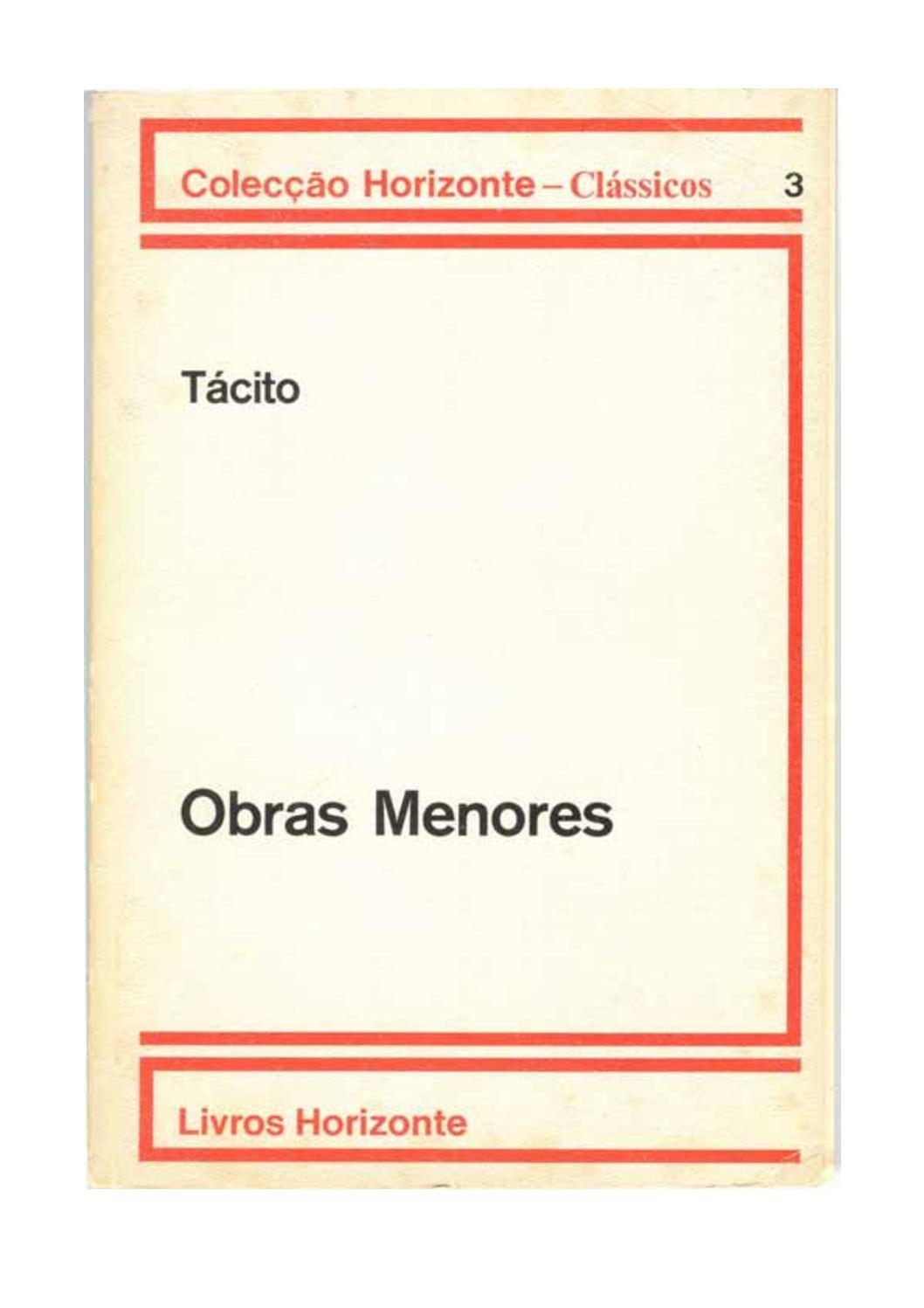 OBRAS MENORES