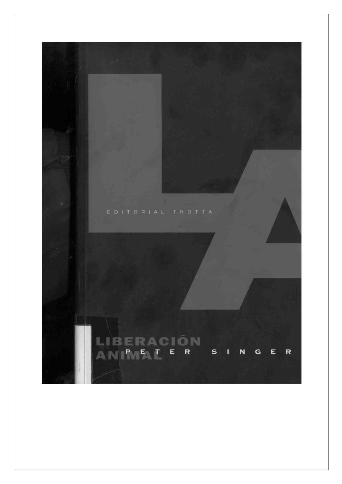 Calaméo - Liberación Animal . Peter Singer 03c89528b