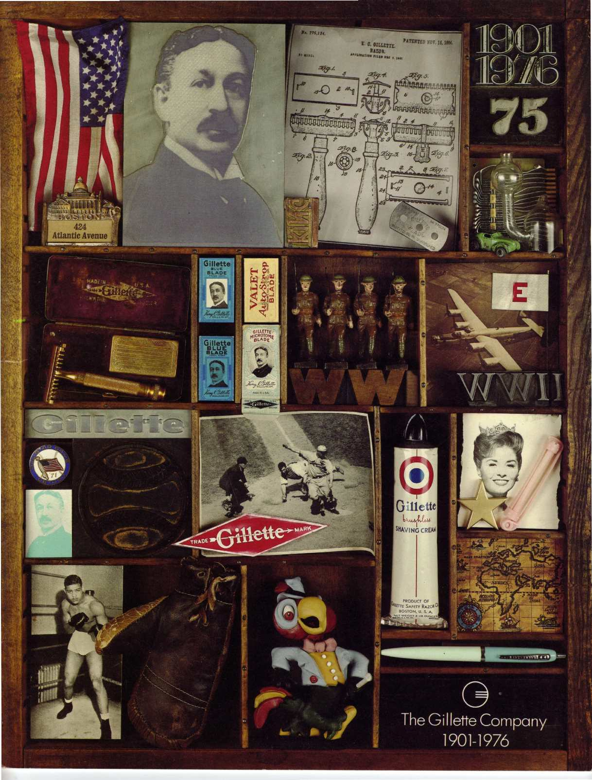 The Gillette Company 75 years, 1901-1976
