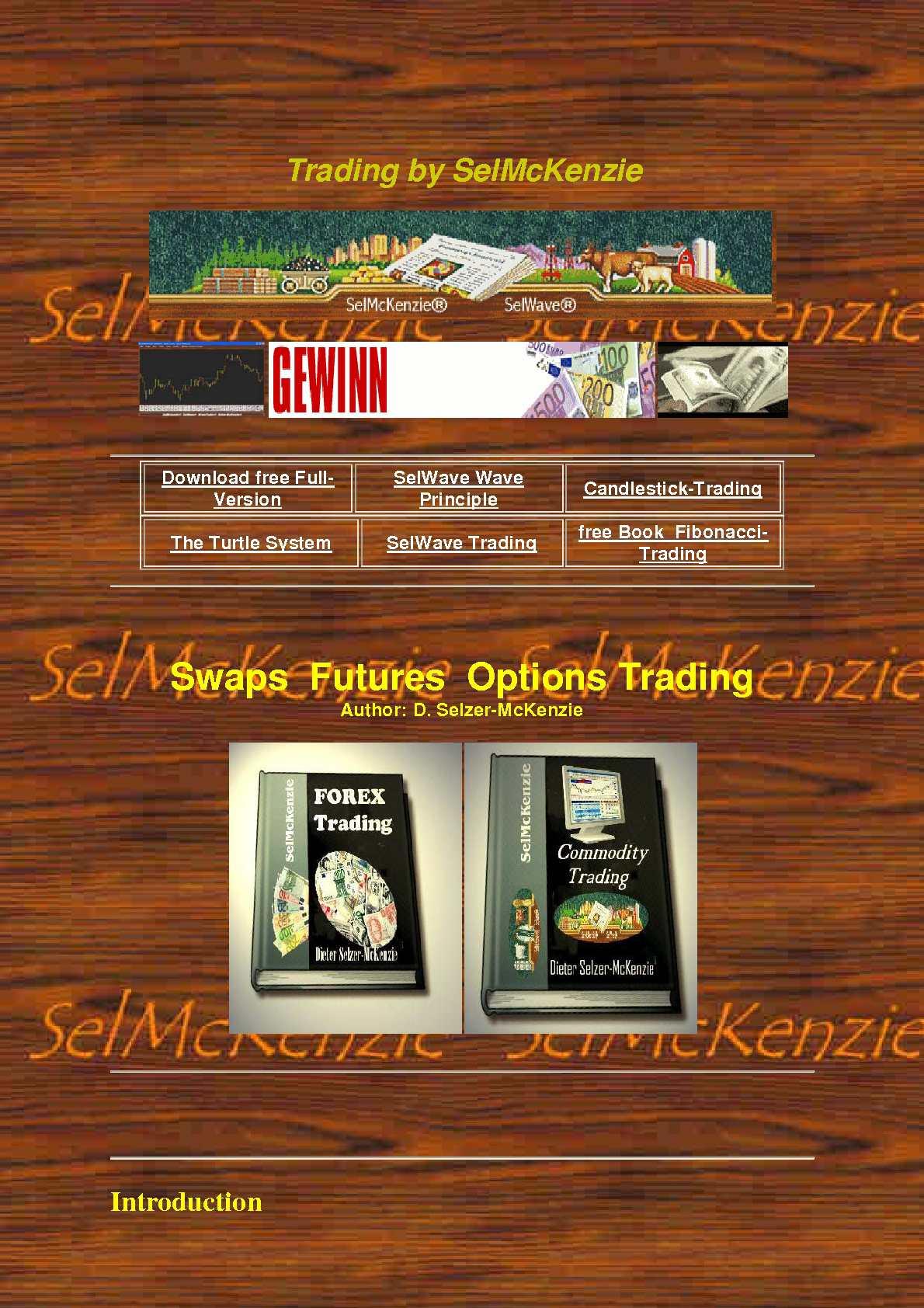 Swap trading system
