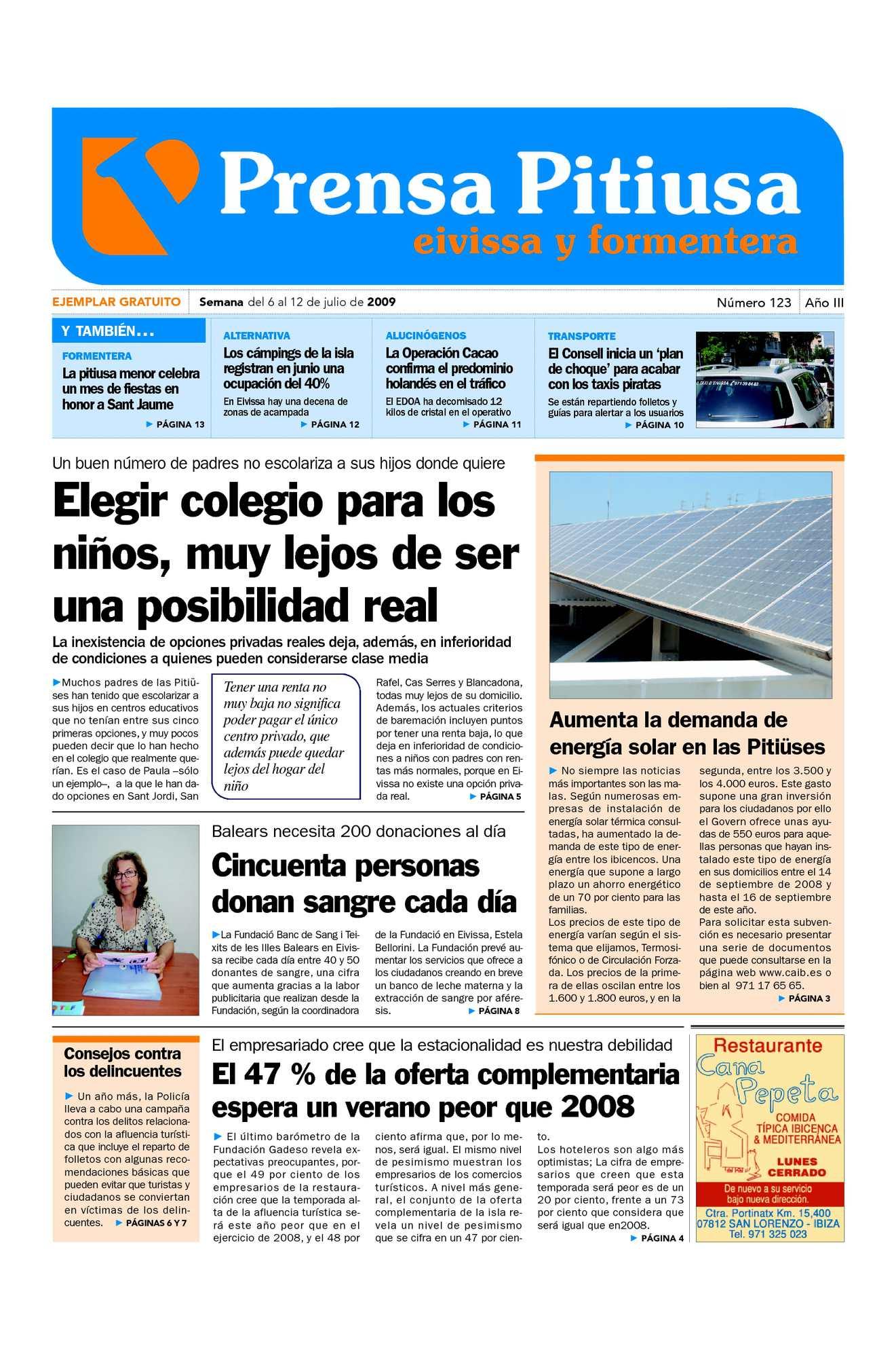 Calaméo - Prensa Pitiusa edición n 123