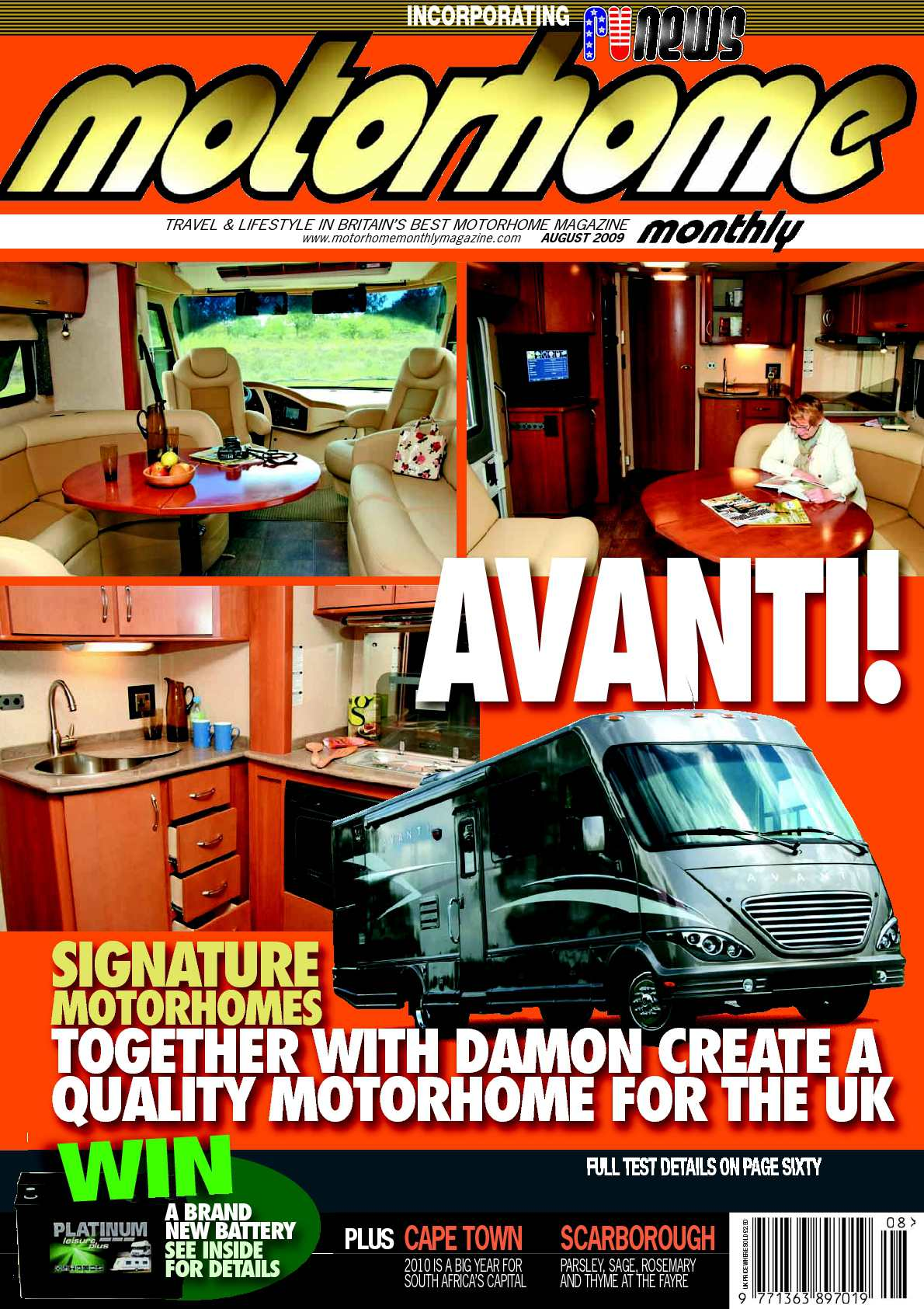 Calaméo August 2009 Motorhome Monthly Magazine