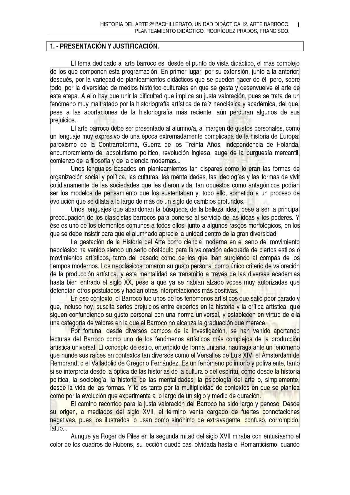 Calaméo - TEMA 12. ARTE BARROCO