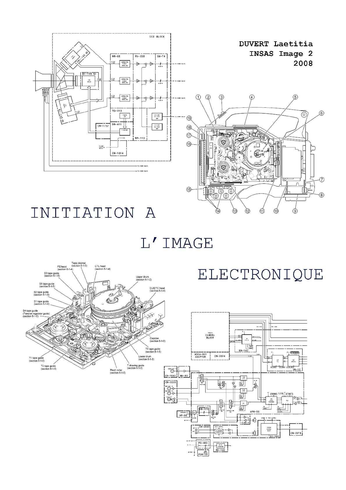 initiation à l'image electronique