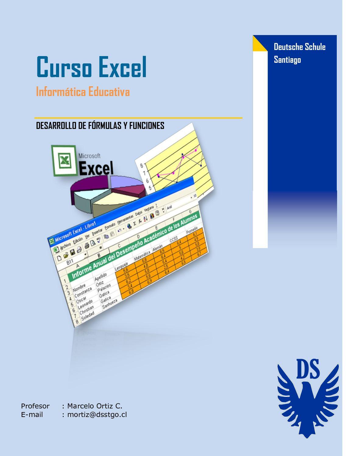 Guía Excel - Fórmulas y Funciones (parte IV)