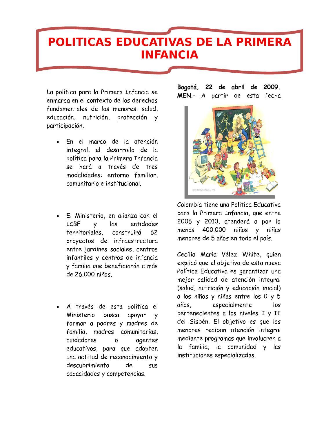 Calaméo - PERIODICO POLITICAS EDUCATIVAS Y LINIAMIENTOS CURRICULARES