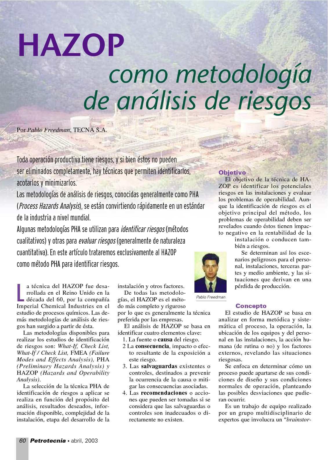 2. Métodos de Análisis de riesgos 3. Método de Montecarlo ...
