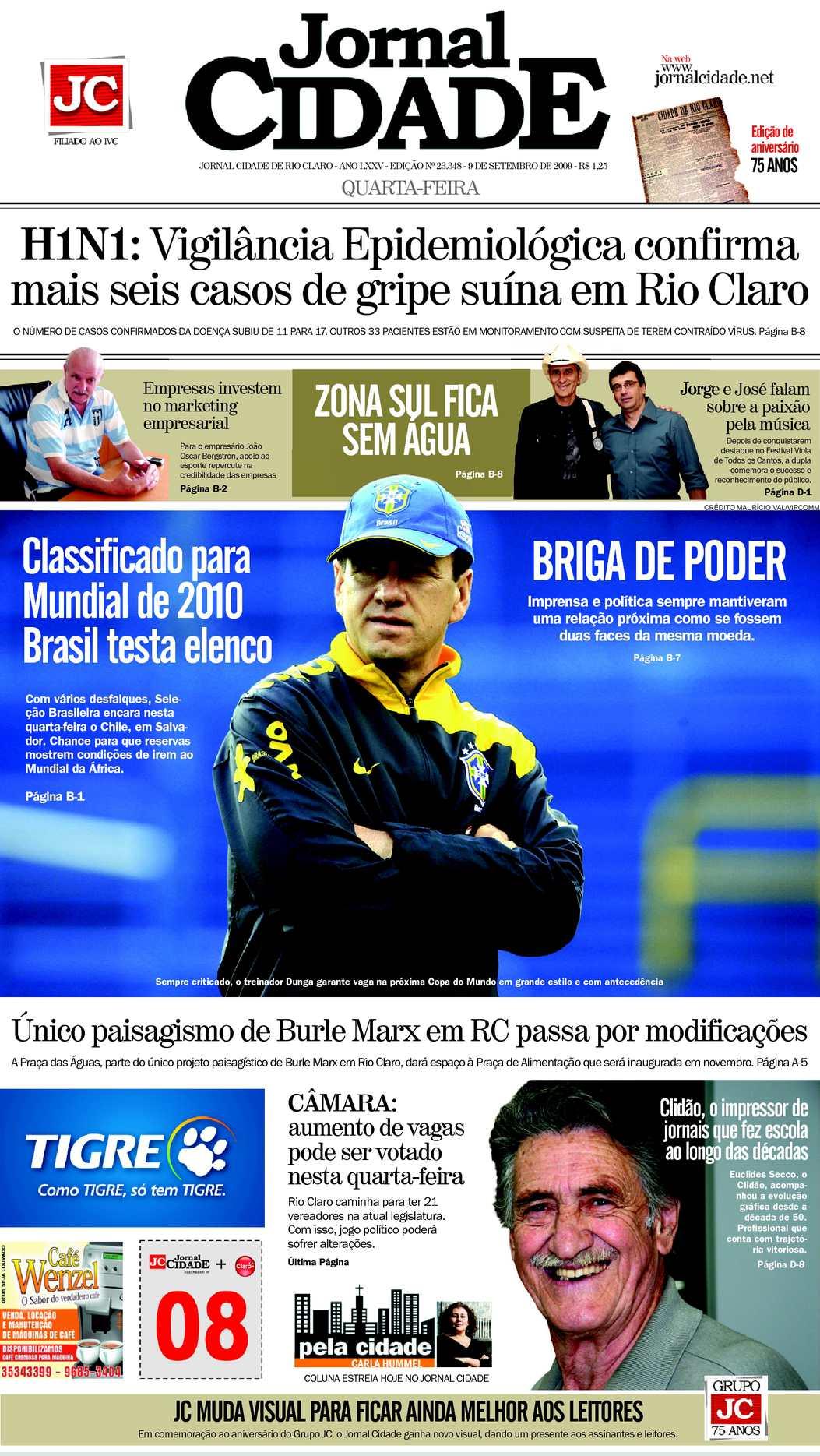 Calaméo - Jornal Cidade de Rio Claro - 09 09 2009 a43b308564