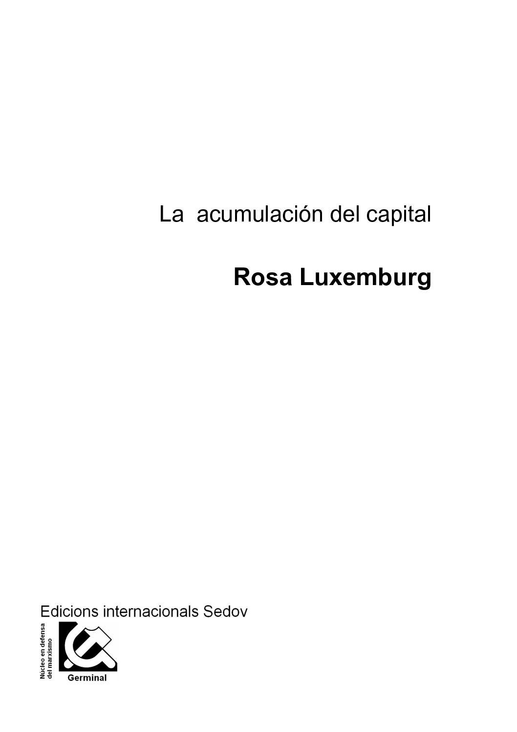 Calaméo - La acumulación del capital