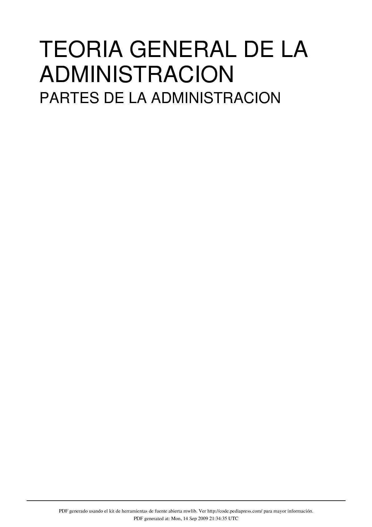 Calaméo - TEORIA GENERAL DE LA ADMINISTRACION