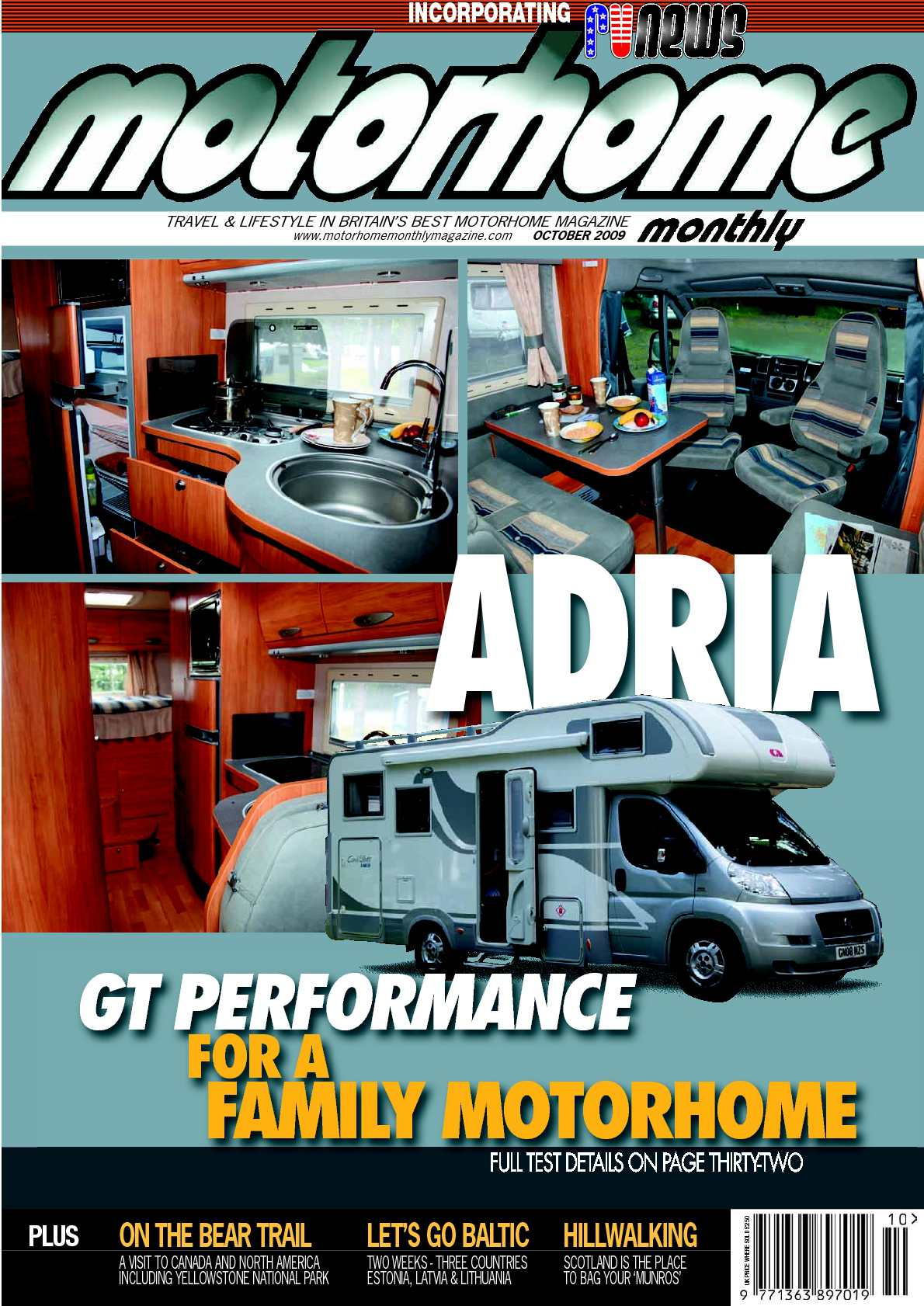 Calaméo October 2009 Motorhome Monthly Magazine