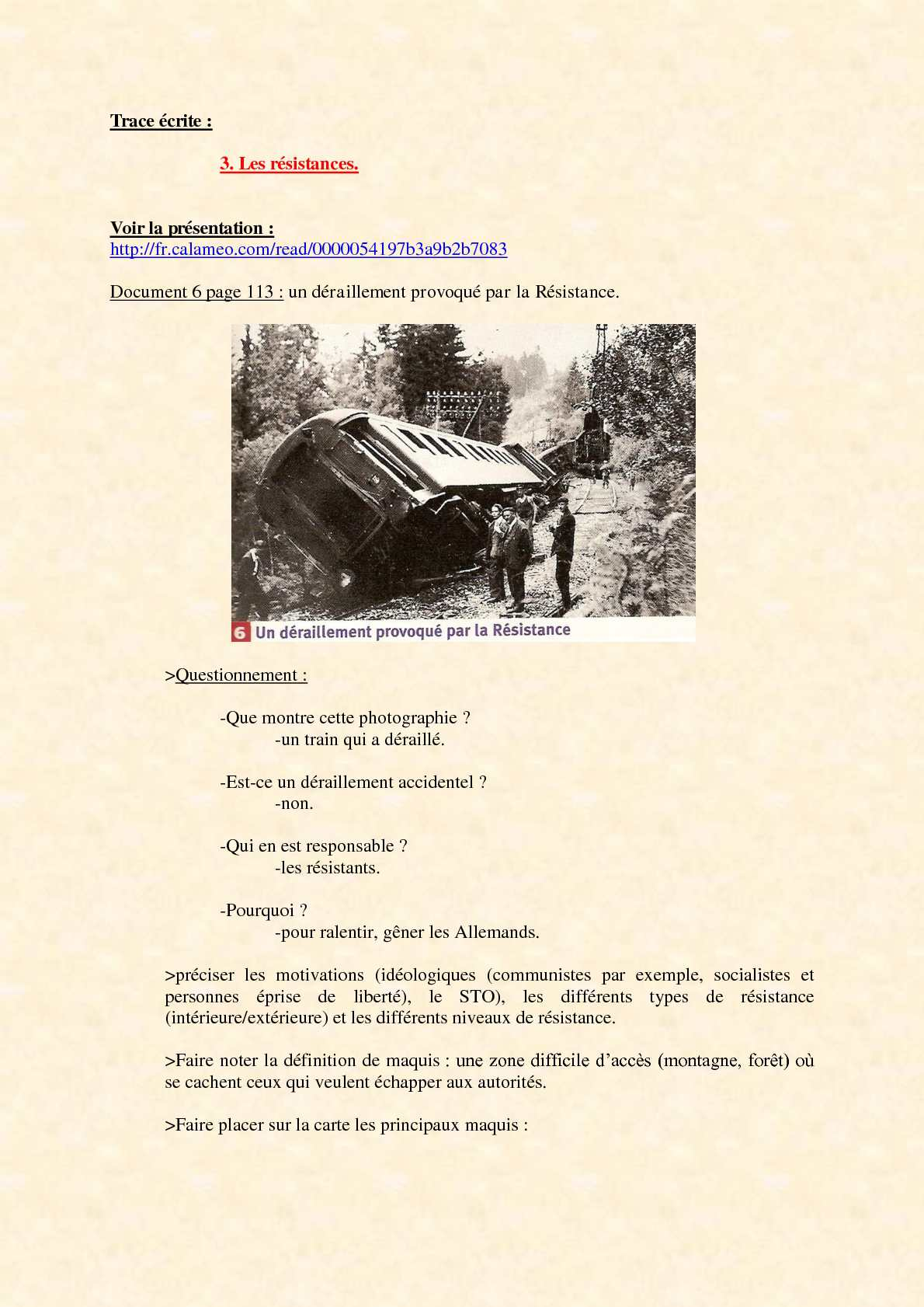 Calaméo - 3ème - La Seconde Guerre mondiale - cours intégral