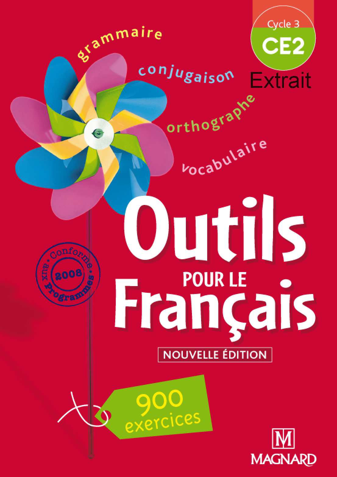 """Extrait de """"Outils pour le français - CE2"""""""