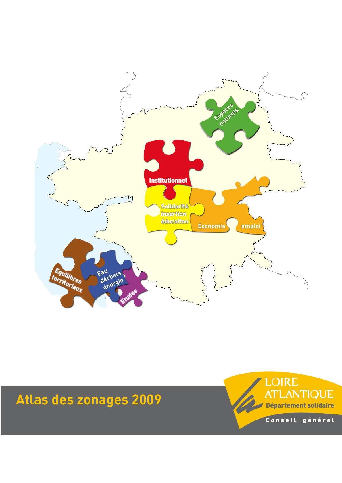 Calam o atlas des zonages de la loire atlantique for Garage ad loire atlantique