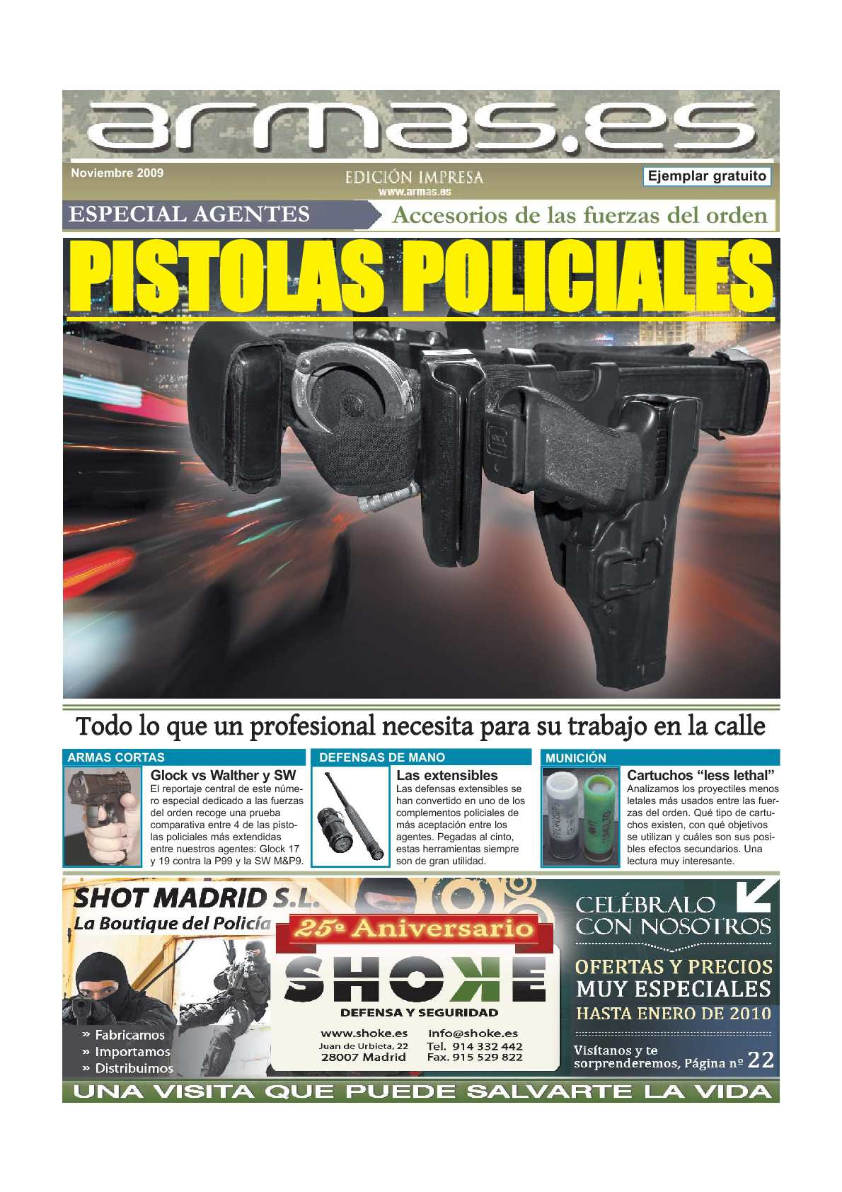 Calaméo - Armas.es Especial Fuerzas del Orden - Pistolas Policiales