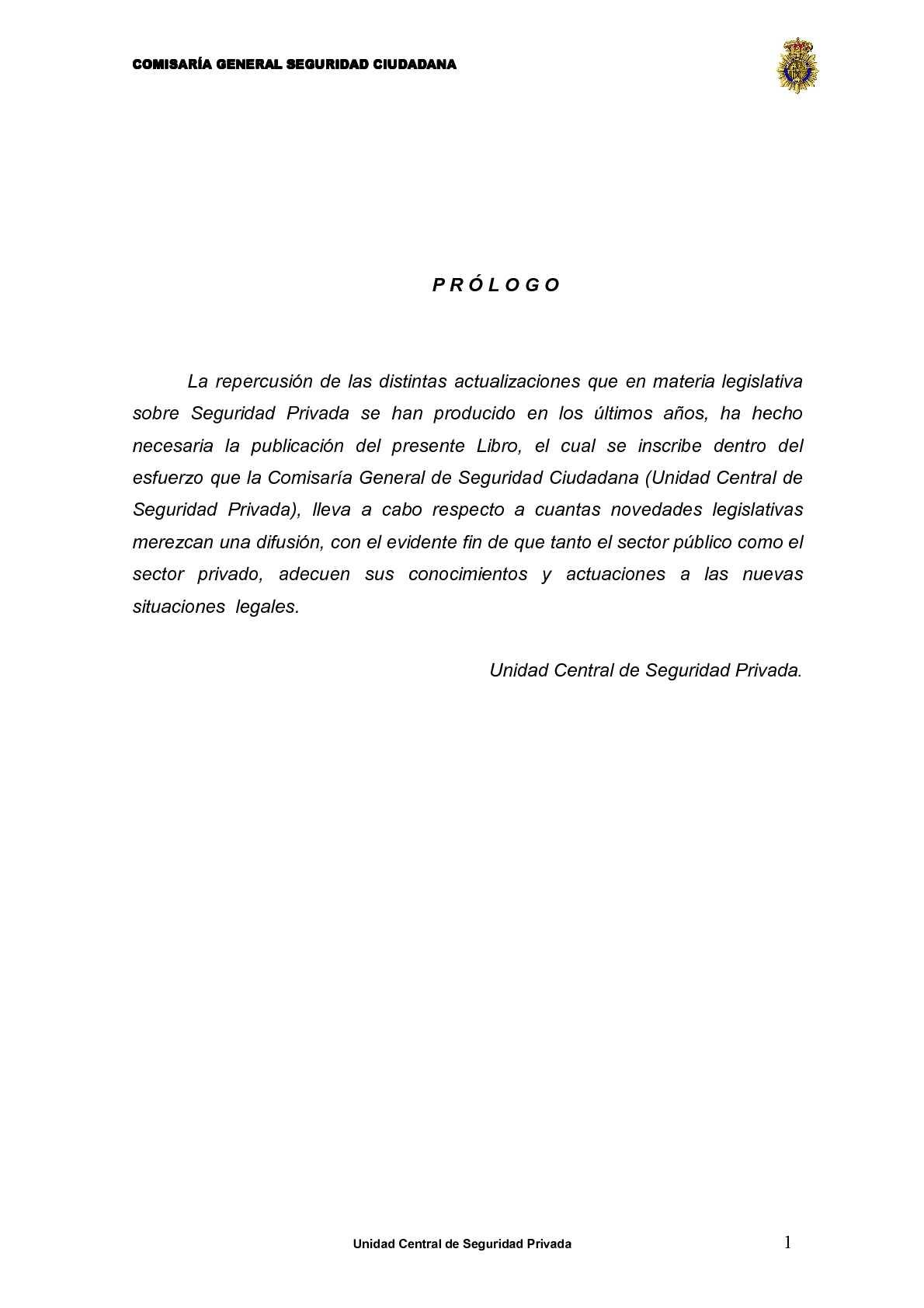 Calaméo - Legislación - seguridad privada