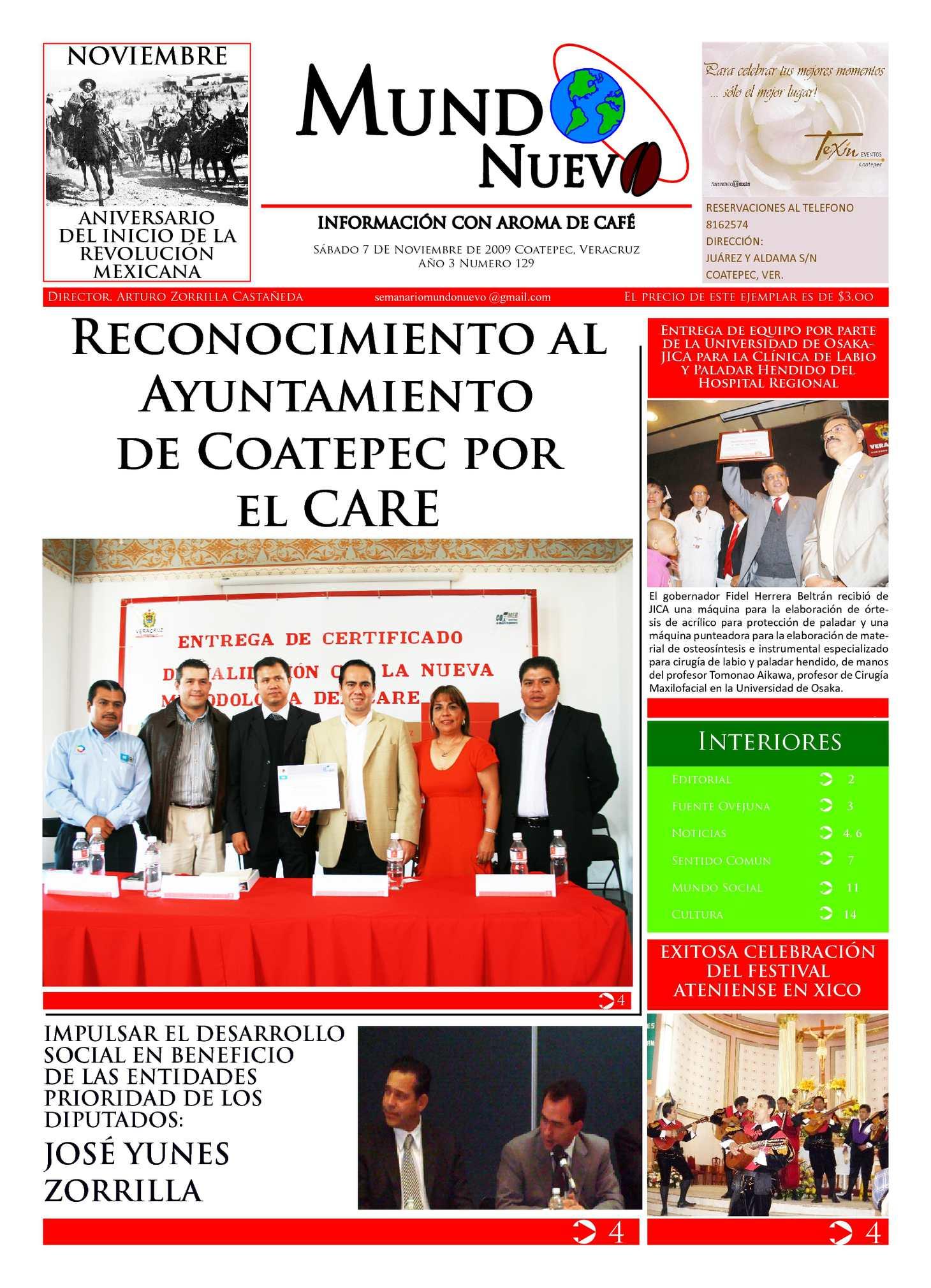 Calaméo - Semanario undo Nuevo. Información con aroma de café