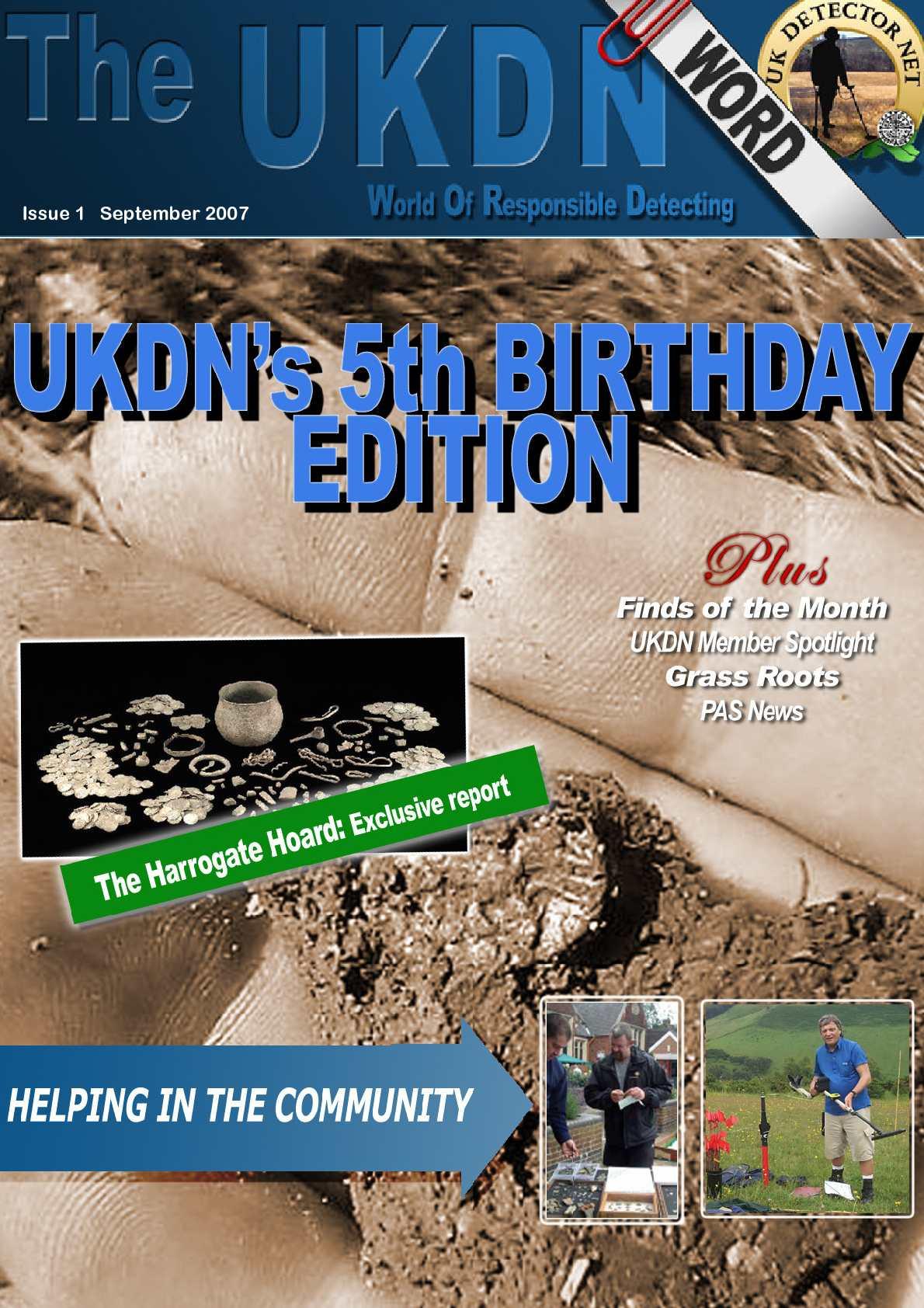 UKDN Word Issue 1 September 2007