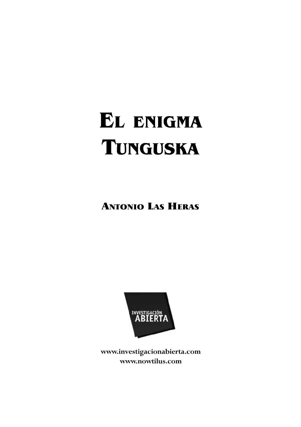 El enigma de Tungusca