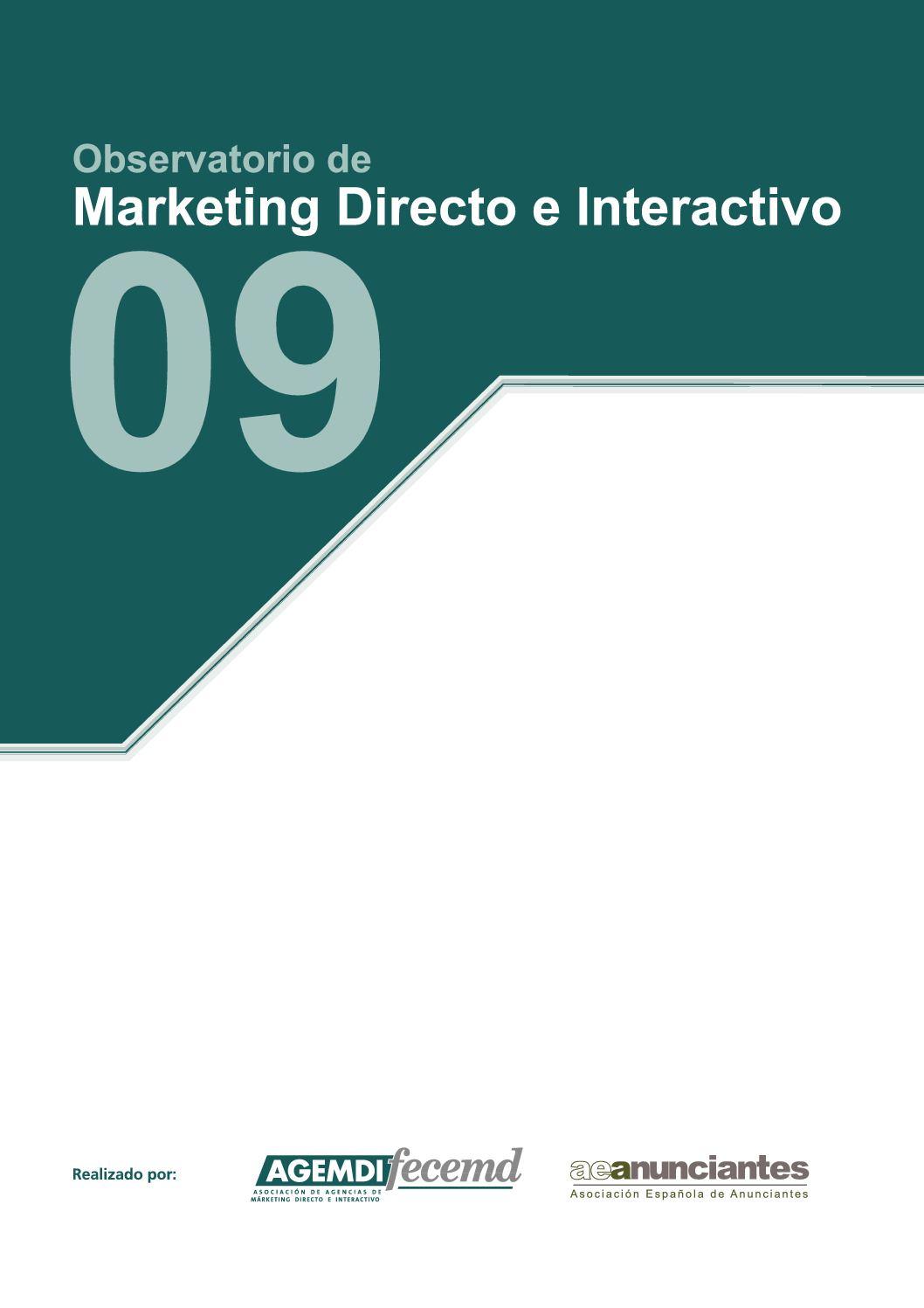 Observatorio de Marketing Directo e Interactivo