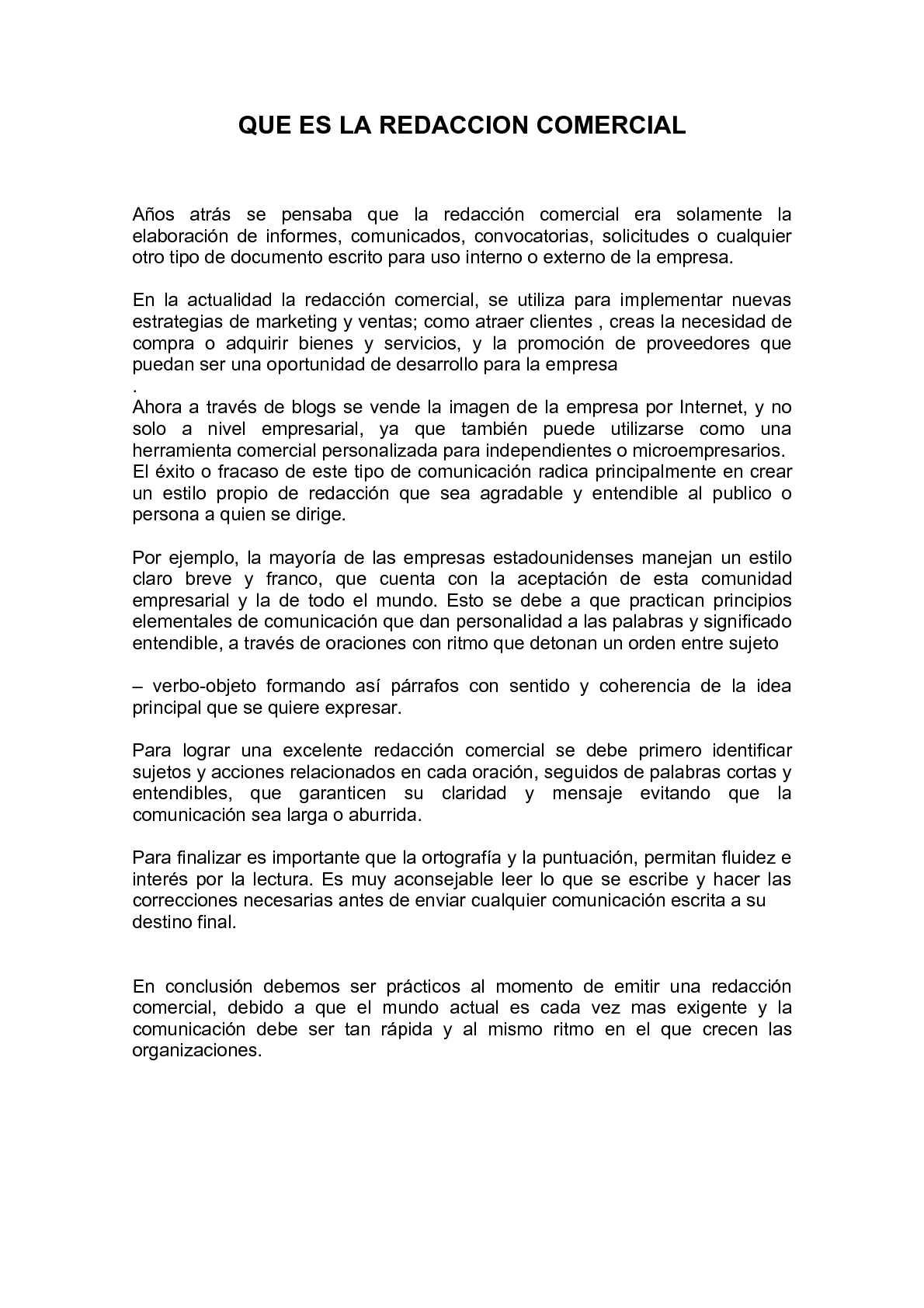 Calaméo - QUE ES LA REDACCION COMERCIAL