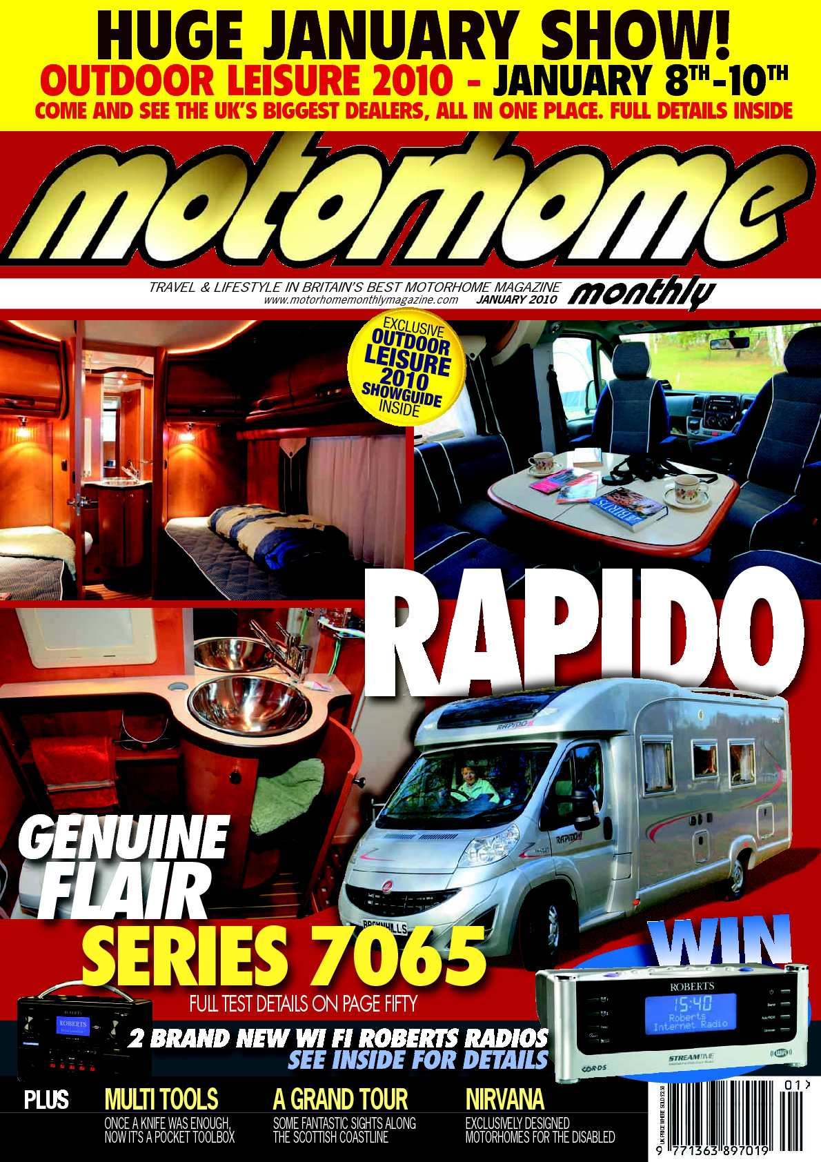 Calamo January 2010 Motorhome Monthly Magazine Marlin Model 9 Camp Carbine Schematic Car Tuning