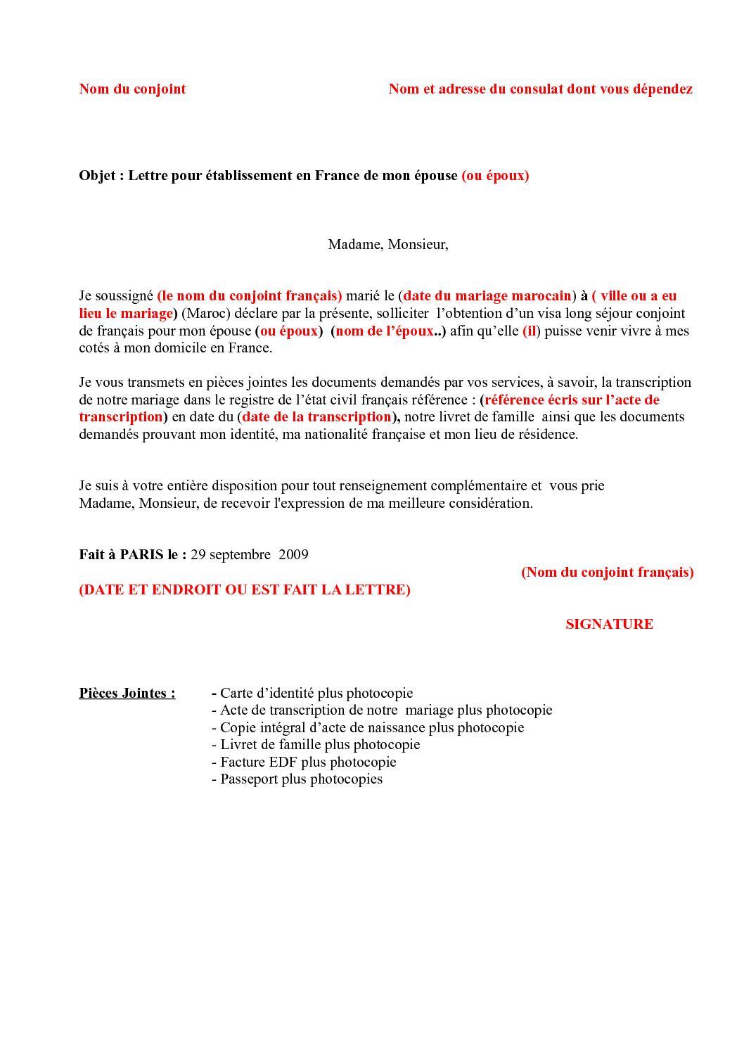 modele_de_lettre_demande_de_visa