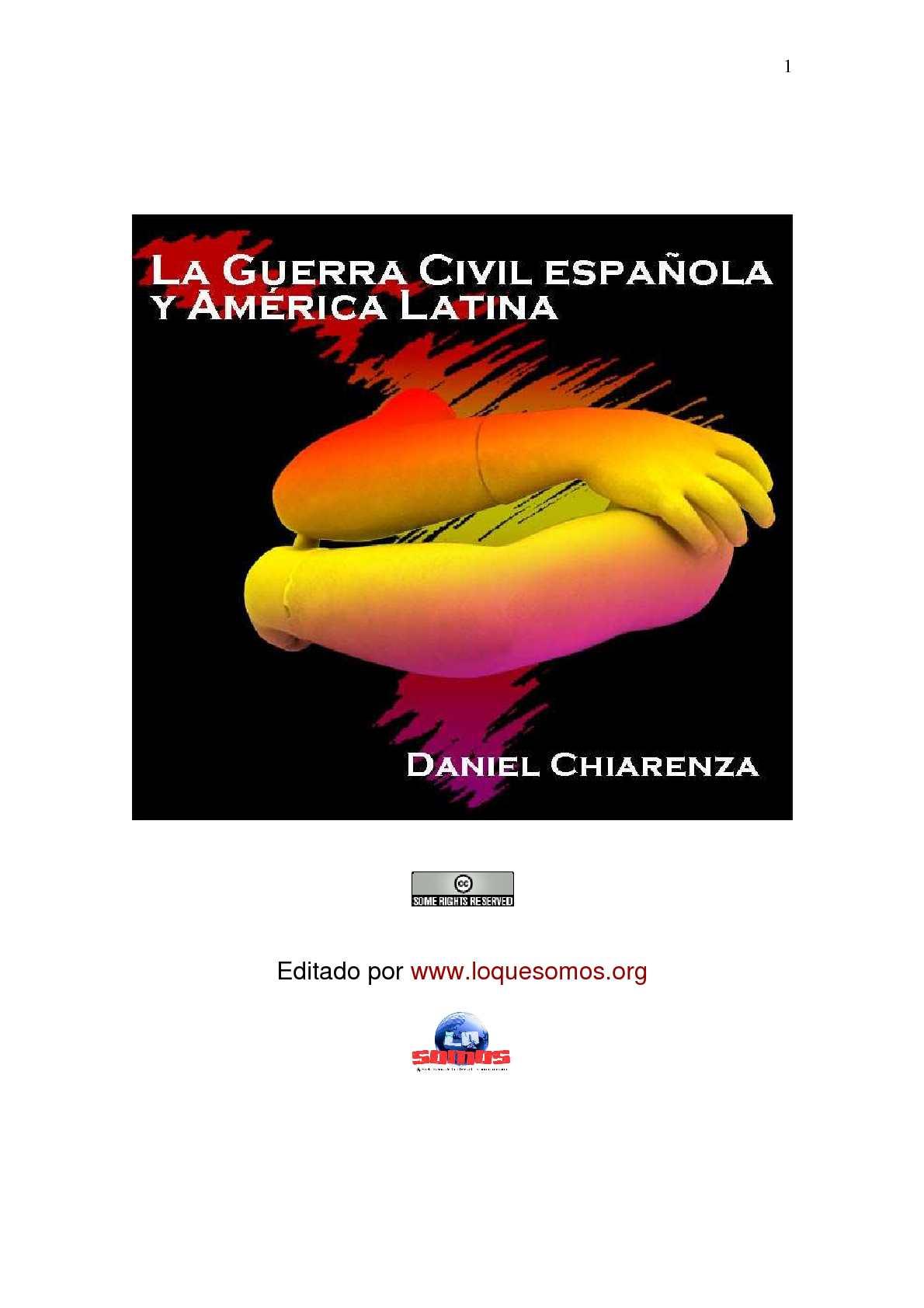 Calaméo - DANIEL CHIARENZA. La guerra civil española y América Latina
