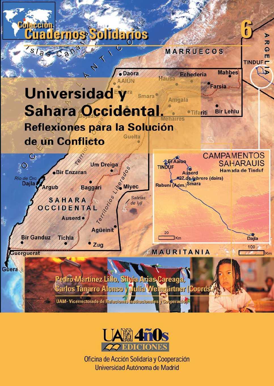 Calaméo - Varios autores. UNIVERSIDAD Y SAHARA OCCIDENTAL ...