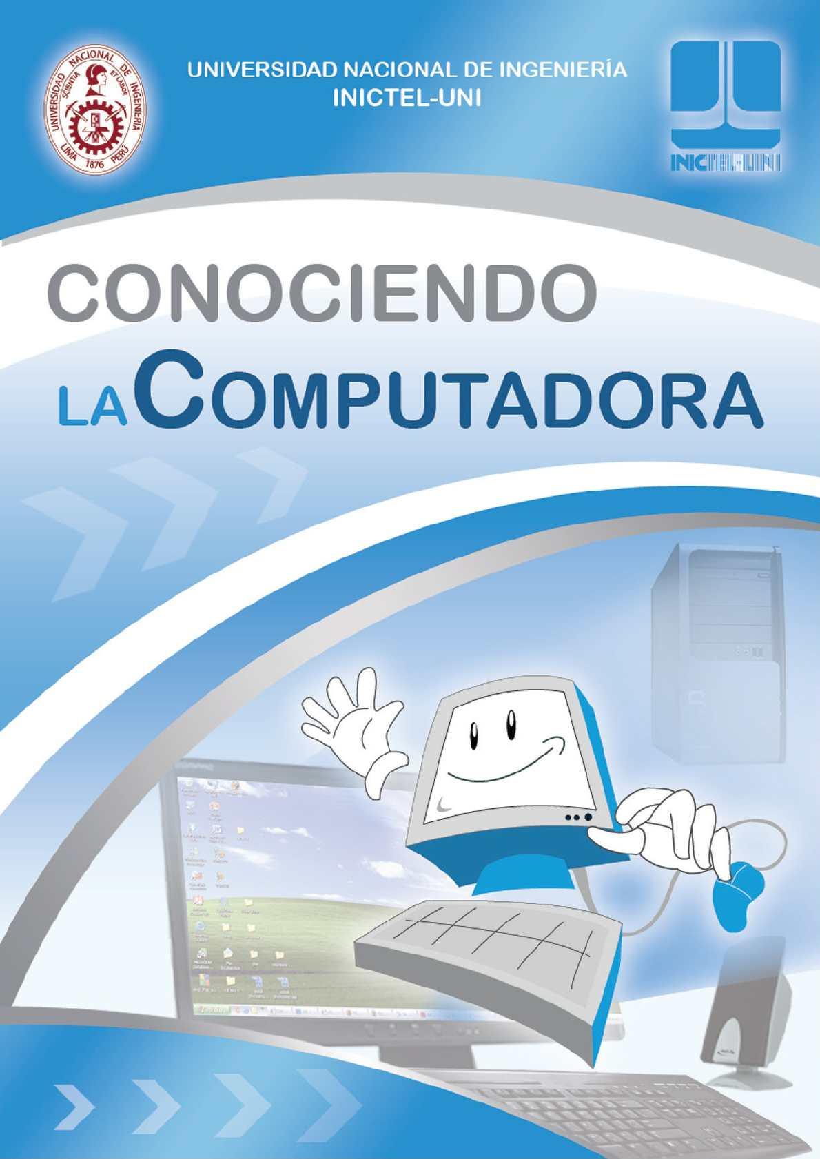 Manual de Conociendo la Computadora