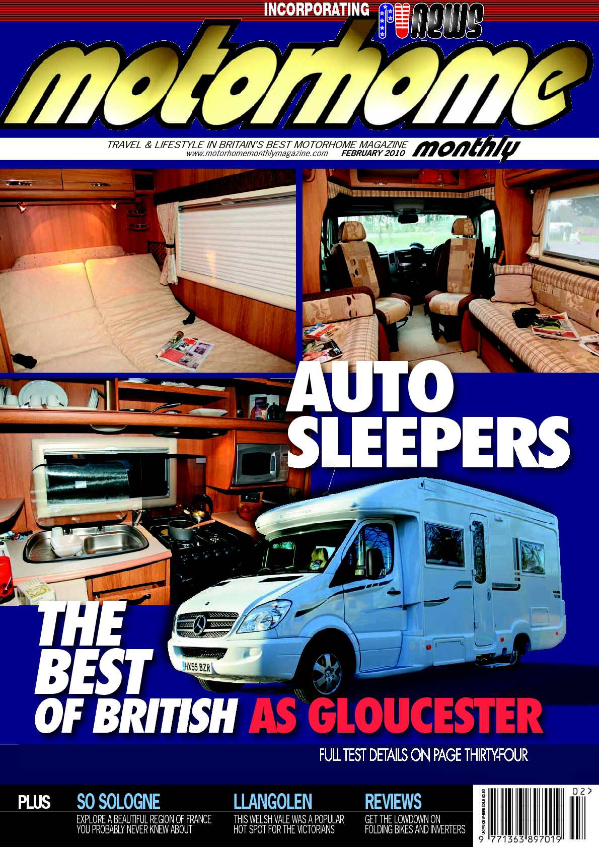 Calamo February 2010 Motorhome Monthly Magazine Freightliner Xc Chis Auxilary Fuse Relay Box