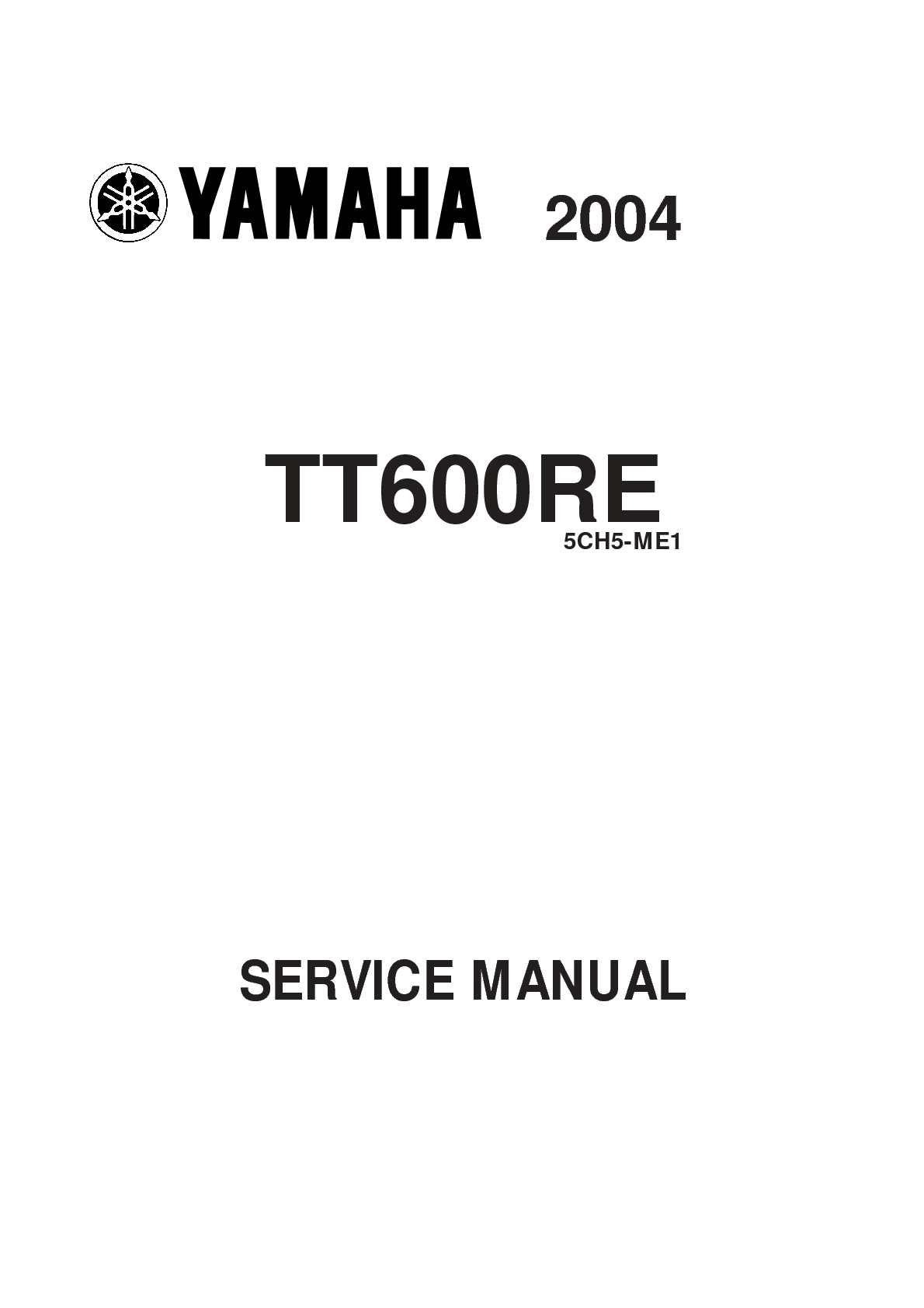 calam o manual servicio taller yamaha tt 600 re rh calameo com