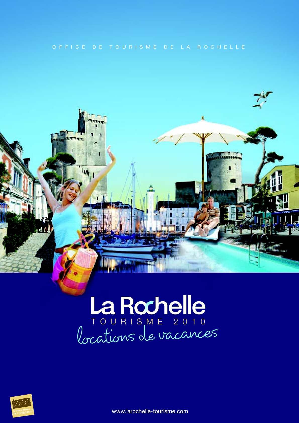 Calam o locations de vacances entre particuliers office de tourisme de la rochelle la - Office de tourisme la rochelle ...
