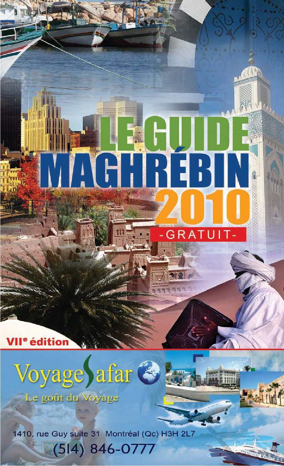 Calam o guide maghrebin for Chambre de commerce de montreal emploi