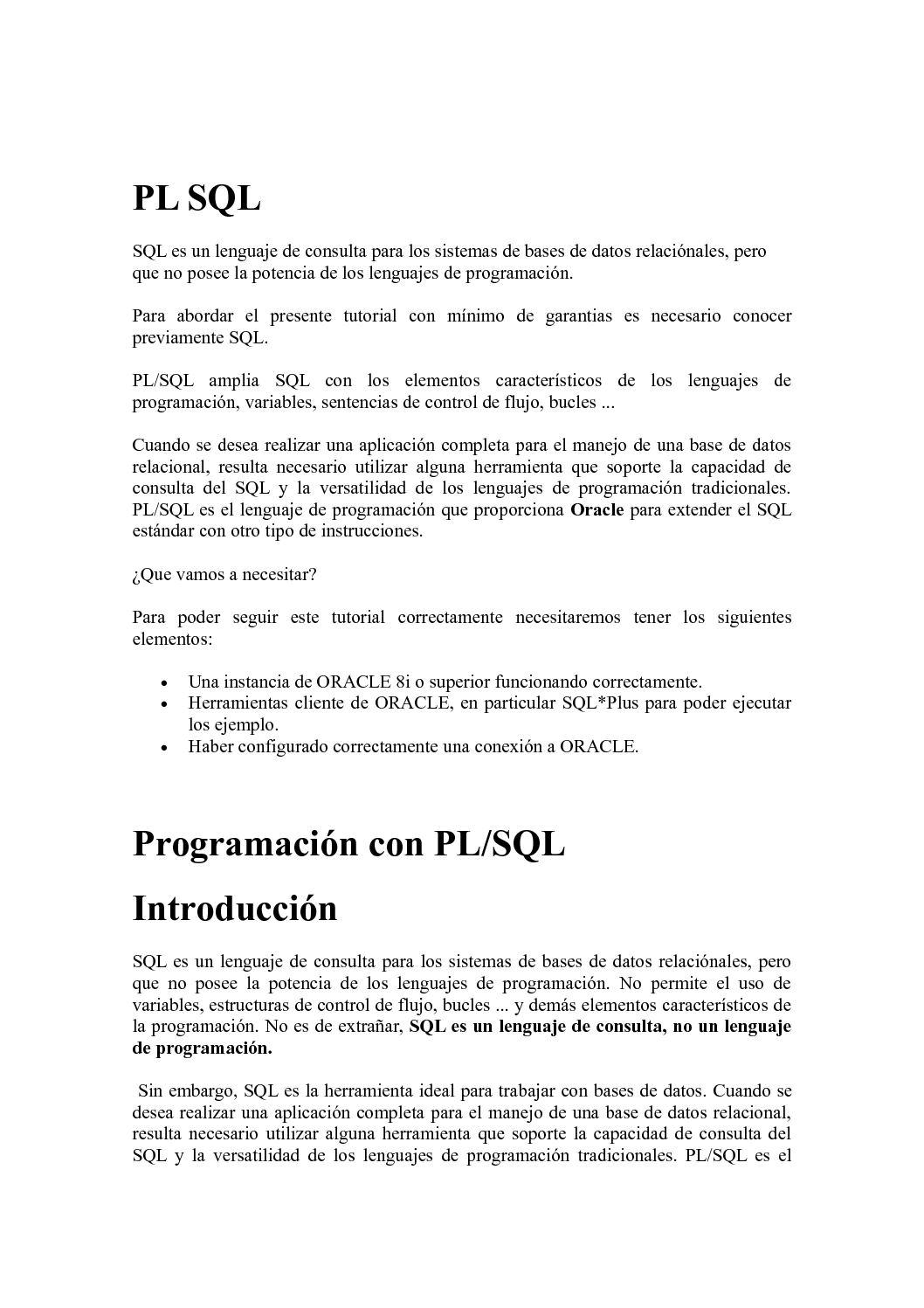 Excelente Muestra De Curriculum Vitae Para El Desarrollador Pl Sql ...