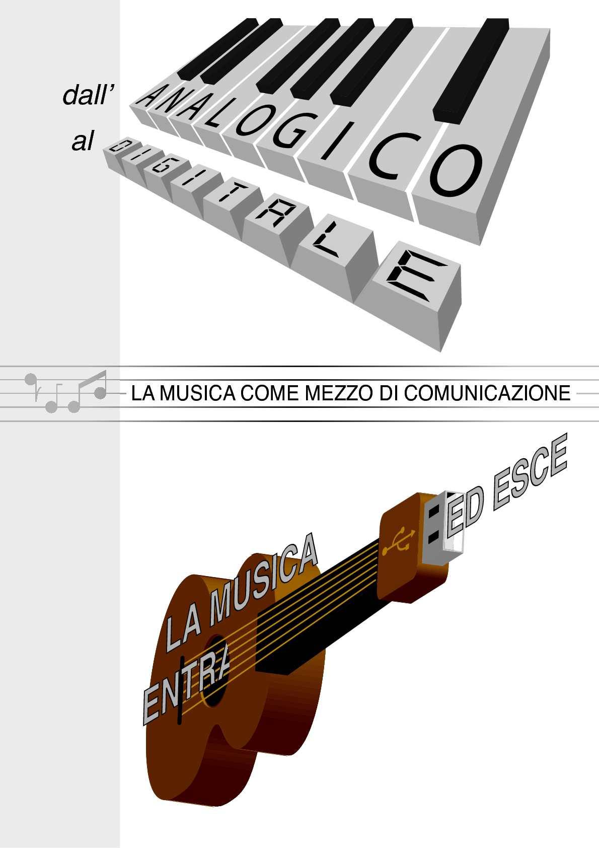 Dall'analogico al digitale: la musica come mezzo di comunicazione.